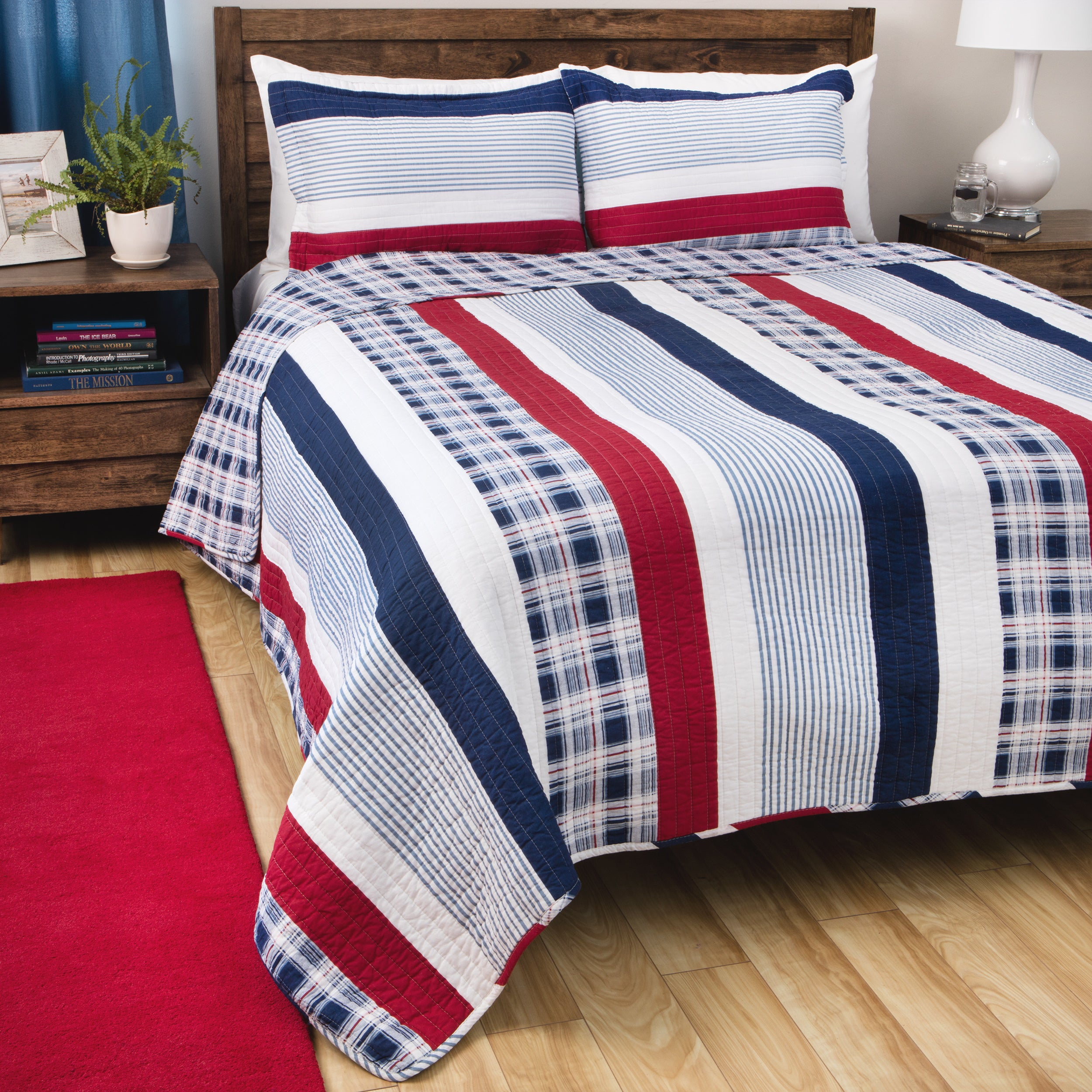 red designs carousel cover nautical ticking duvet stripe covers large