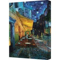 Vincent Van Gogh 'Cafe Terrace' Gallery Wrapped Canvas