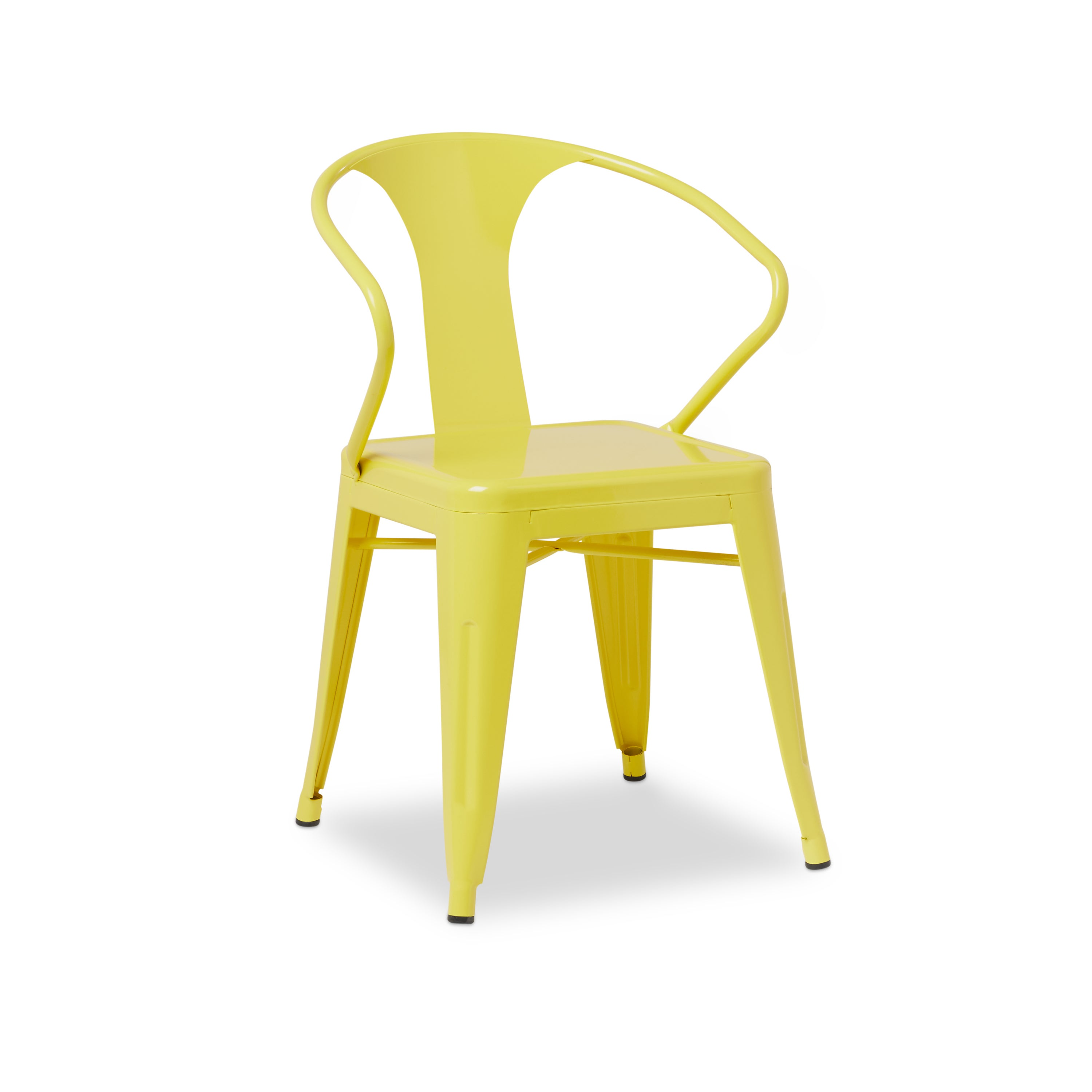 Shop Tabouret Lemon Metal Stacking Chairs (Set Of 4)   Free Shipping Today    Overstock.com   6839568