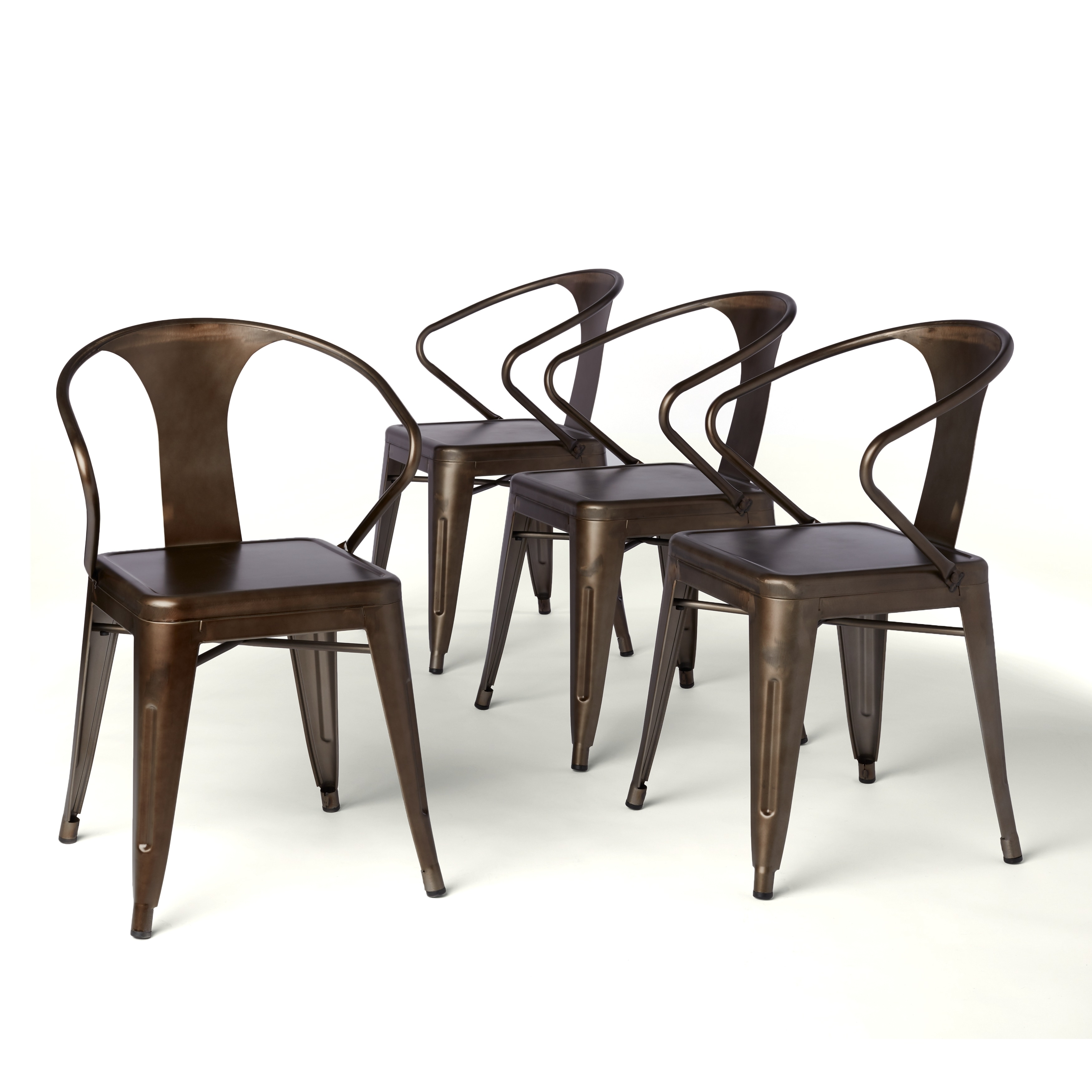 Shop Tabouret Vintage Tabouret Stacking Chairs Set Of 4 Free