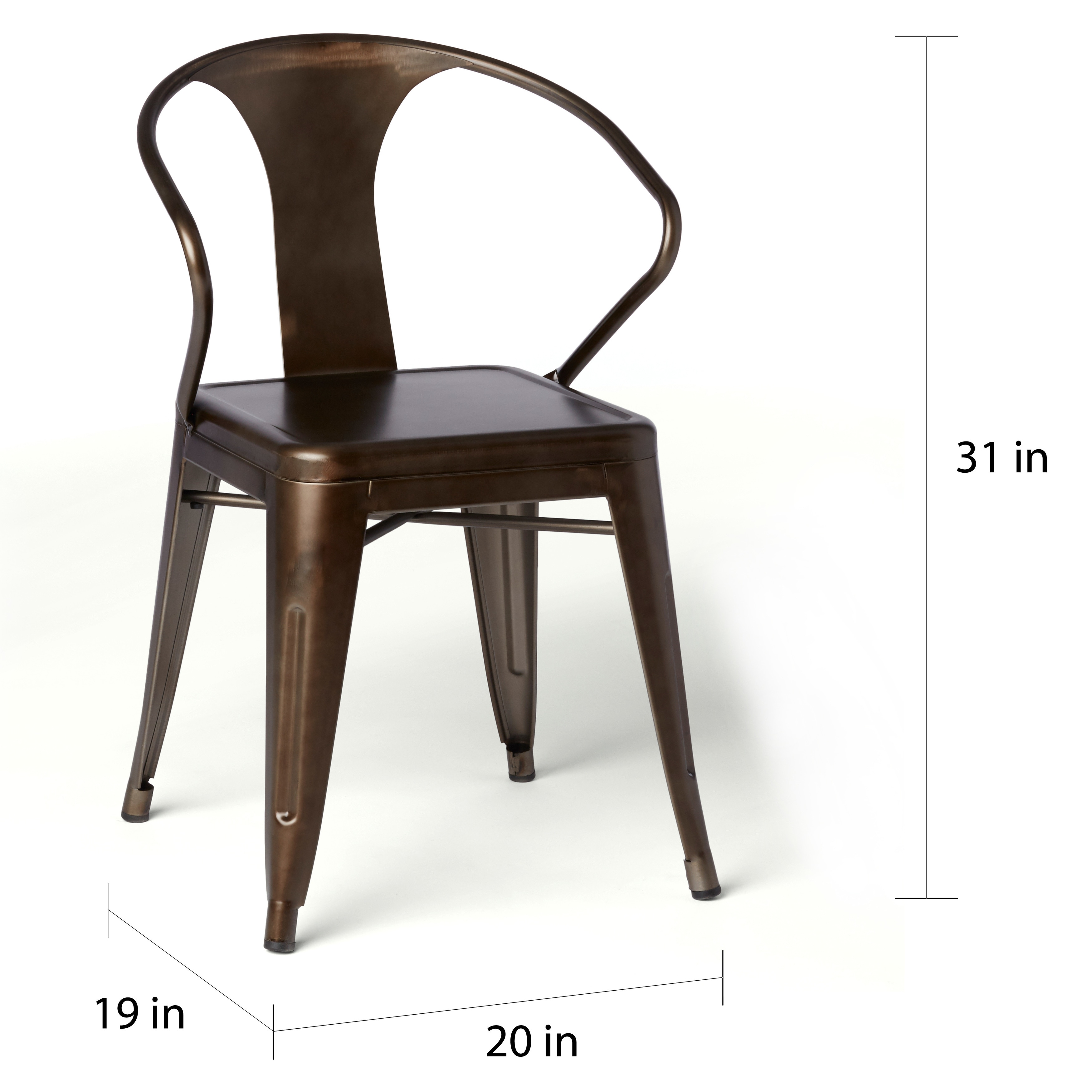Shop Tabouret Vintage Tabouret Stacking Chairs (Set Of 4)   Free Shipping  Today   Overstock.com   6839588
