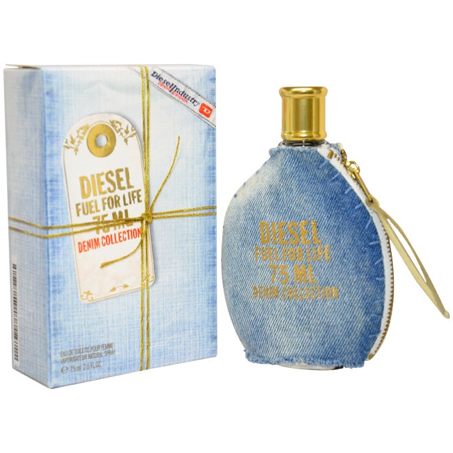 f7b8152d Shop Diesel Fuel For Life Women's 2.5-ounce Eau de Toilette Spray (Denim  Collection) - Free Shipping Today - Overstock - 6842625