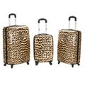 Rockland Designer 3-piece Lightweight Hardside Spinner Luggage Set