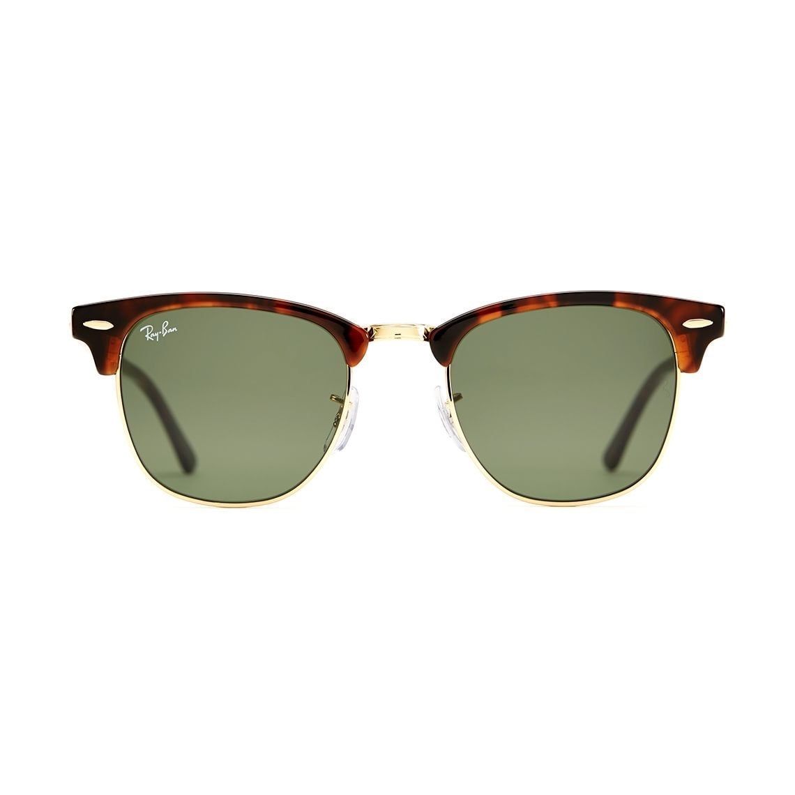 1fbd294a9a17 Shop Ray-Ban Clubmaster RB 3016 Unisex Tortoise Frame Green Classic Lens  Sunglasses - Free Shipping Today - Overstock - 6852790