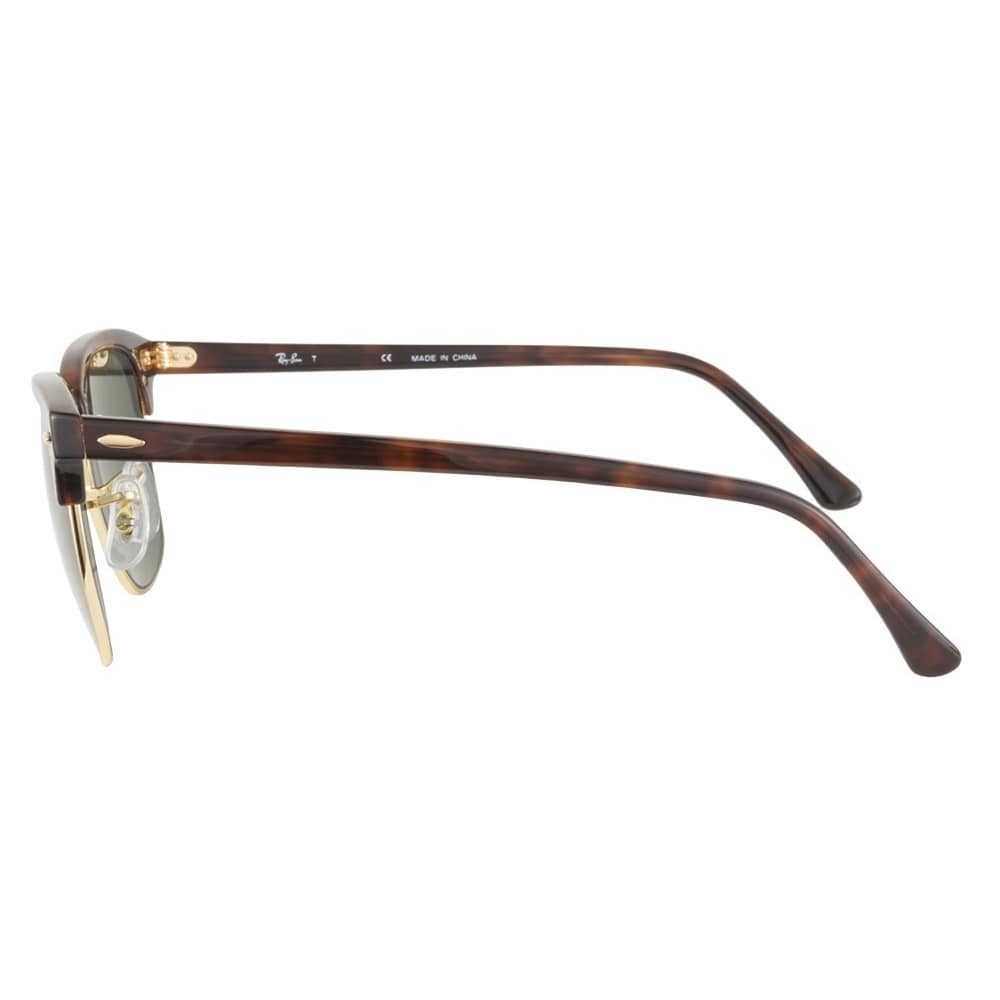 692990da729 Shop Ray-Ban Clubmaster RB 3016 Unisex Tortoise Frame Green Classic Lens  Sunglasses - Free Shipping Today - Overstock - 6852790