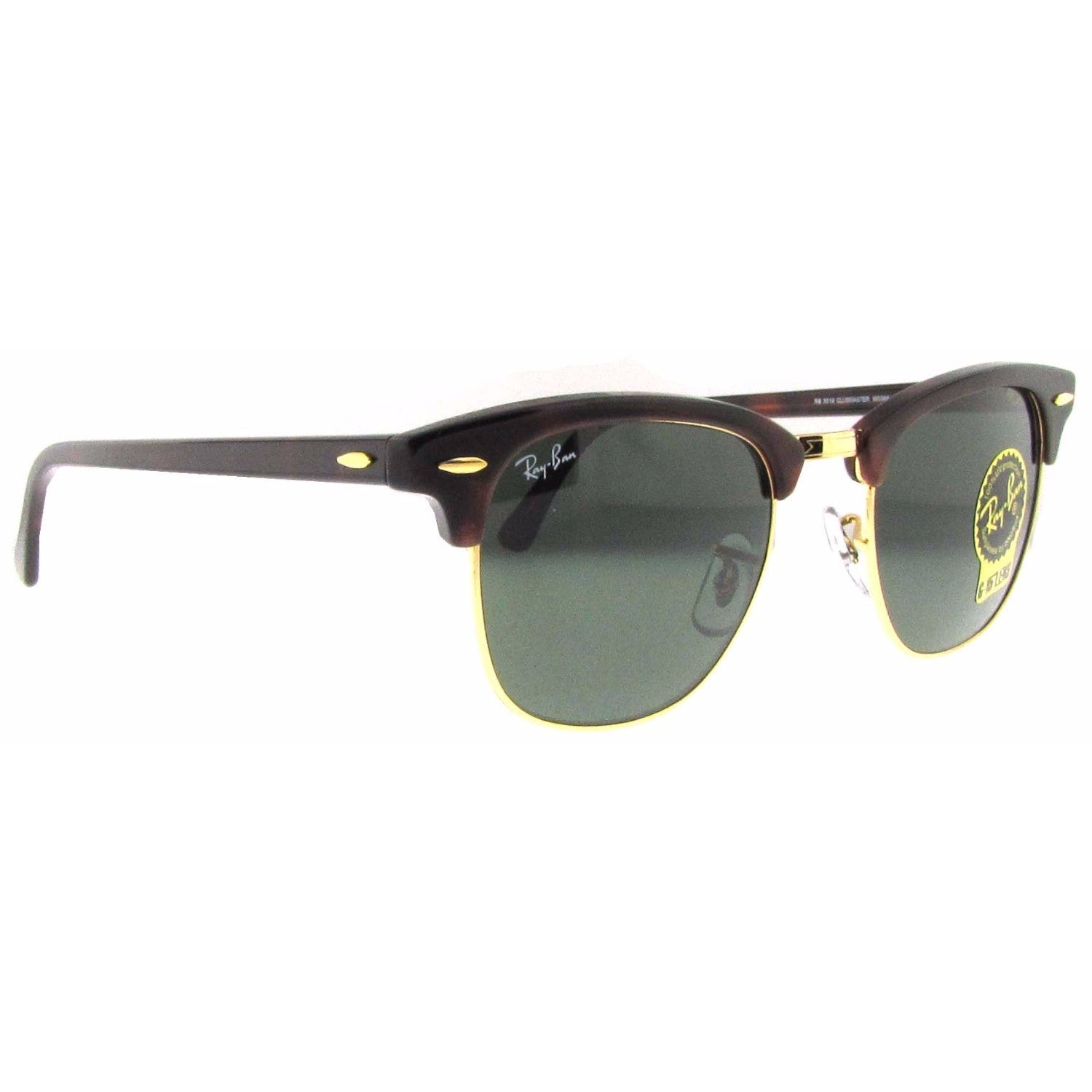 44d13182665 Shop Ray-Ban Clubmaster RB 3016 Unisex Tortoise Frame Green Classic Lens  Sunglasses - Free Shipping Today - Overstock - 6852790