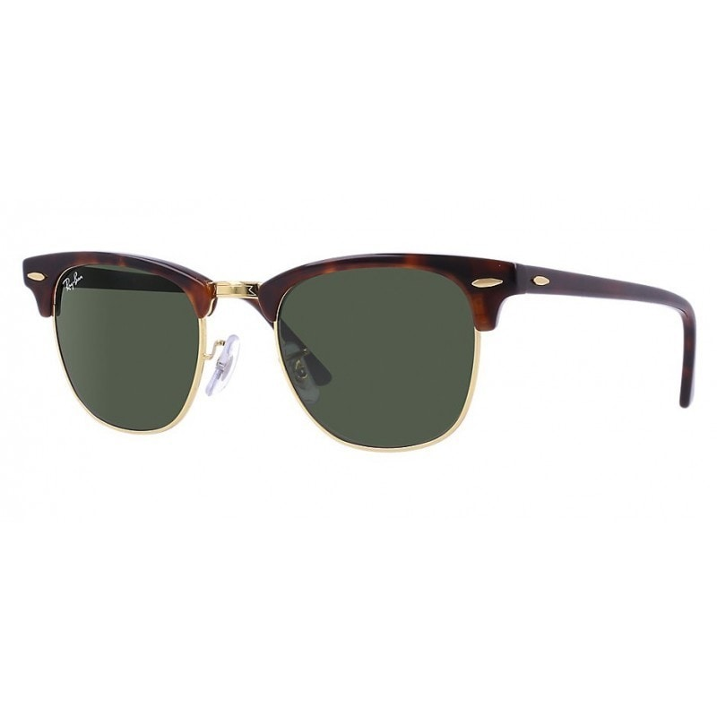 ea67ad849aa2 Shop Ray-Ban Clubmaster RB 3016 Unisex Tortoise Frame Green Classic Lens  Sunglasses - Free Shipping Today - Overstock.com - 6852790