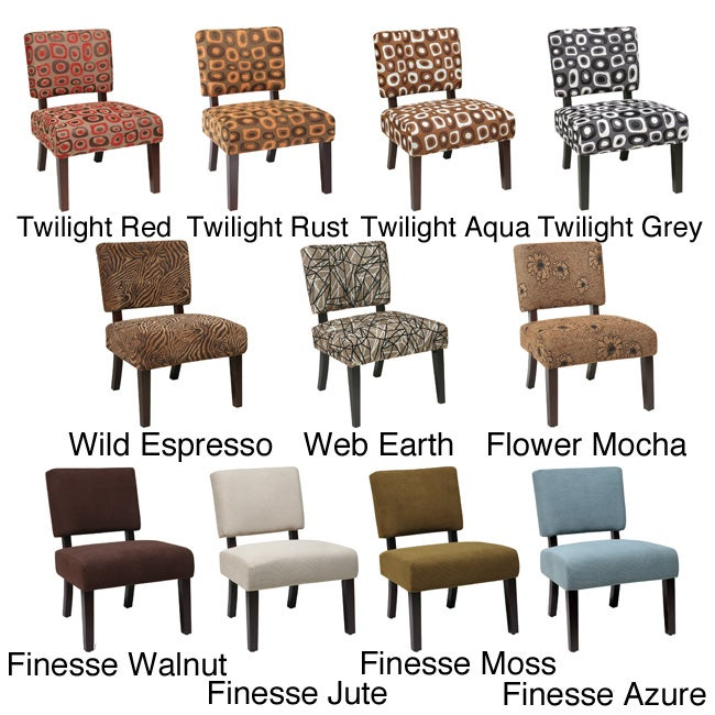 Shop Office Star Jasmine Accent Chair - Free Shipping Today - Overstock.com - 6857002  sc 1 st  Overstock.com & Shop Office Star Jasmine Accent Chair - Free Shipping Today ...