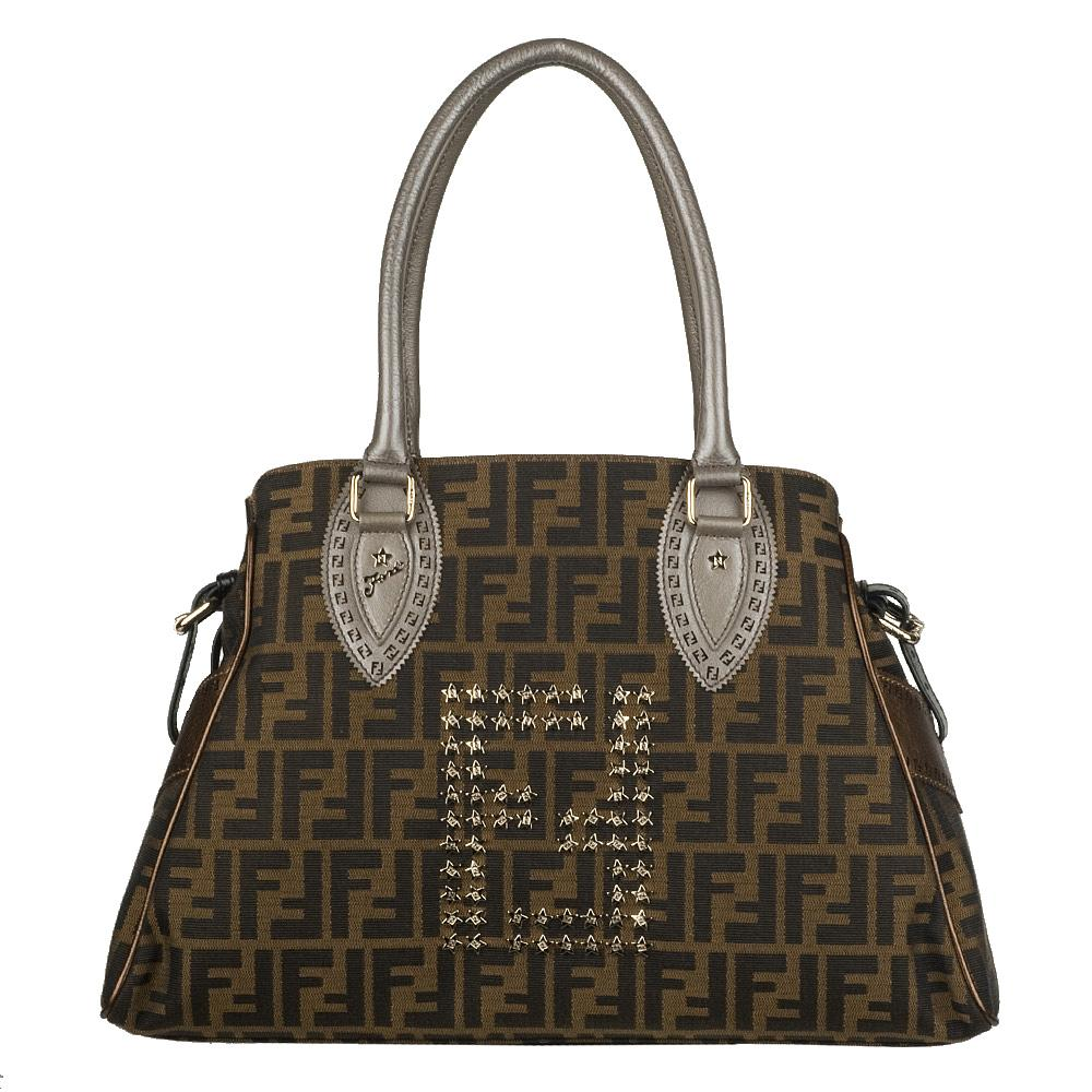 27bfbd5b6b18 ... coupon code for fendi studded zucca bag de jour 75323 d9590