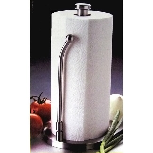 Stainless Steel Upright Paper Towel Holder Free Shipping On Orders Over 45 690375