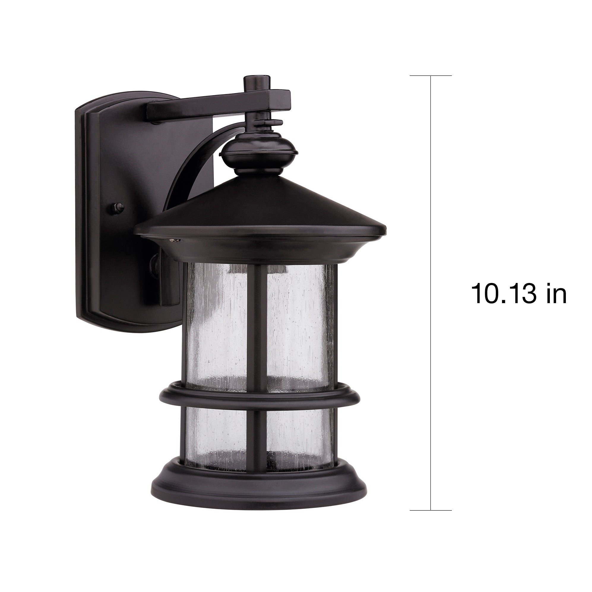 Rubbed dark bronze 1 light outdoor wall mounted light fixture free rubbed dark bronze 1 light outdoor wall mounted light fixture free shipping on orders over 45 overstock 14485270 mozeypictures Gallery