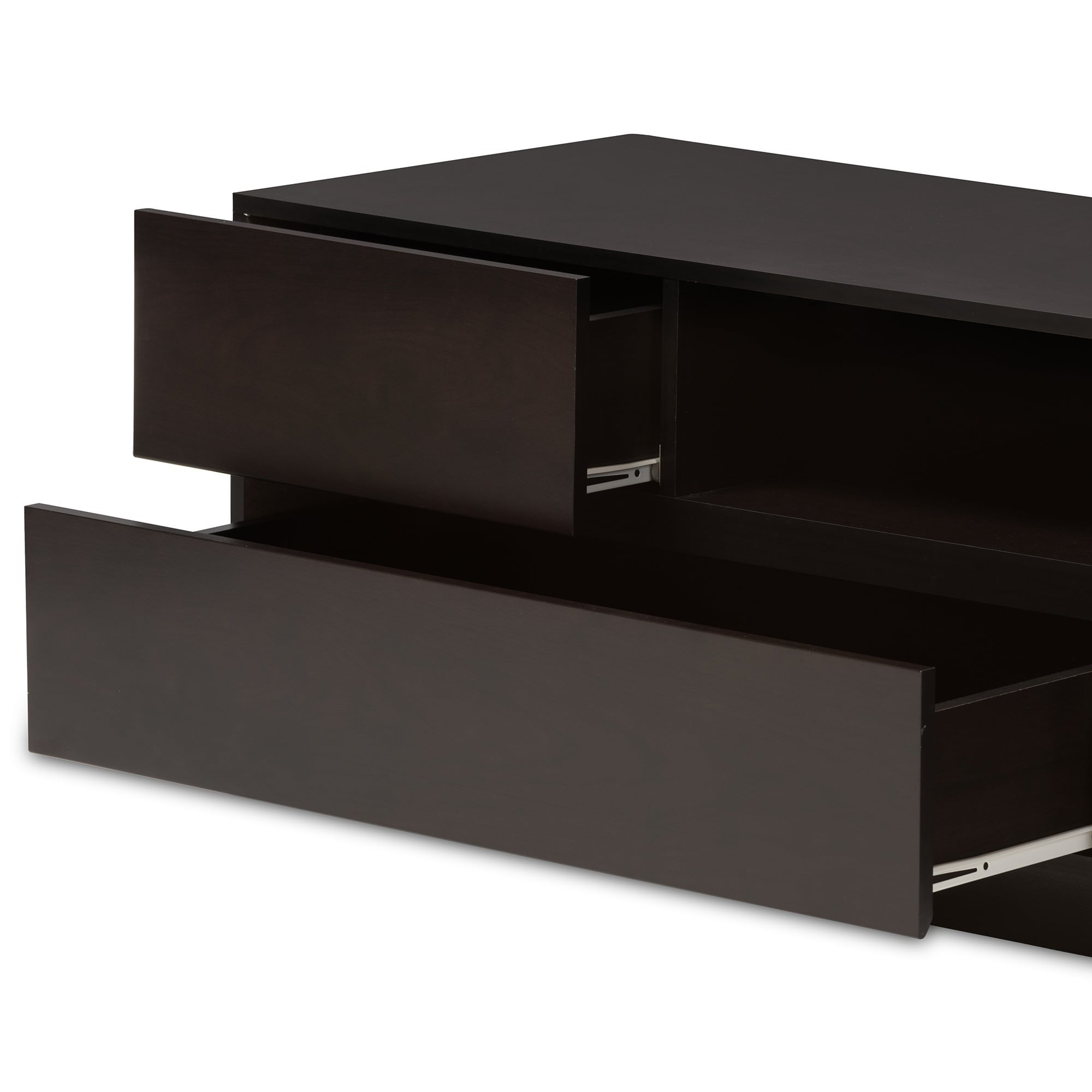 Lovato Dark Brown Tv Cabinet Free Shipping Today 6975541