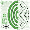"Hot Off The Press Templates 12""X12""-Easy Ovals"