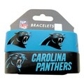 Carolina Panthers Rubber Wrist Bands (Set of 2)