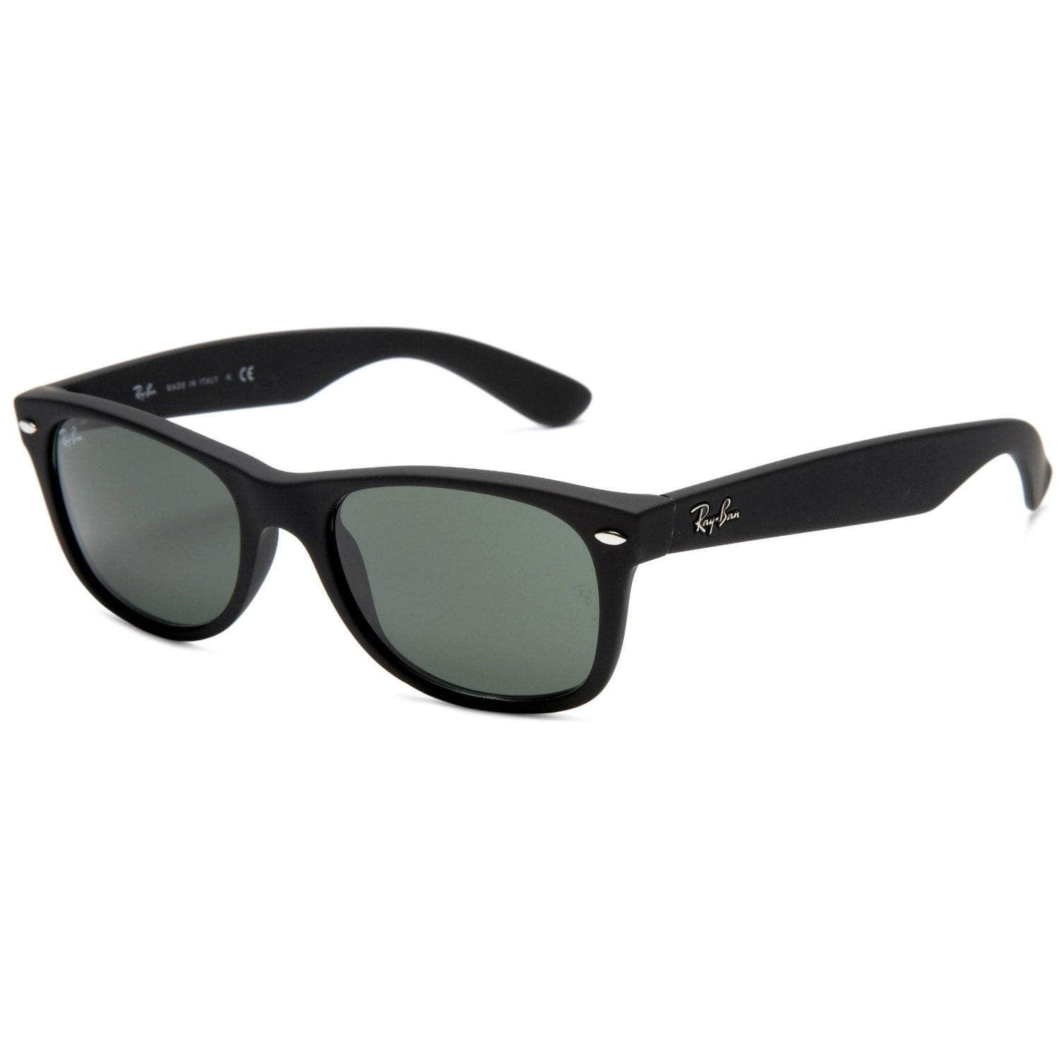 bcd8f00a3e1 Shop Ray-Ban Men s  RB2132  New Wayfarer Sunglasses - Free Shipping Today -  Overstock - 7031048