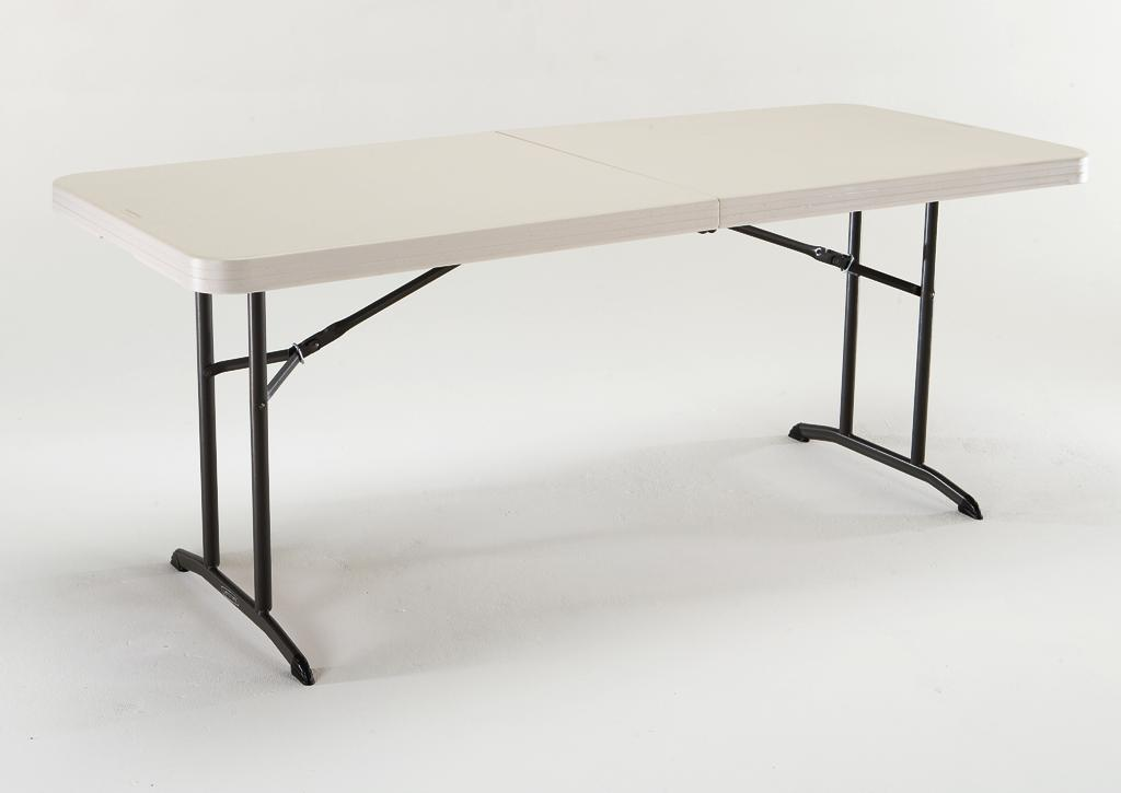 Incroyable Lifetime 6 Foot Fold In Half Heavy Duty Banquet Table