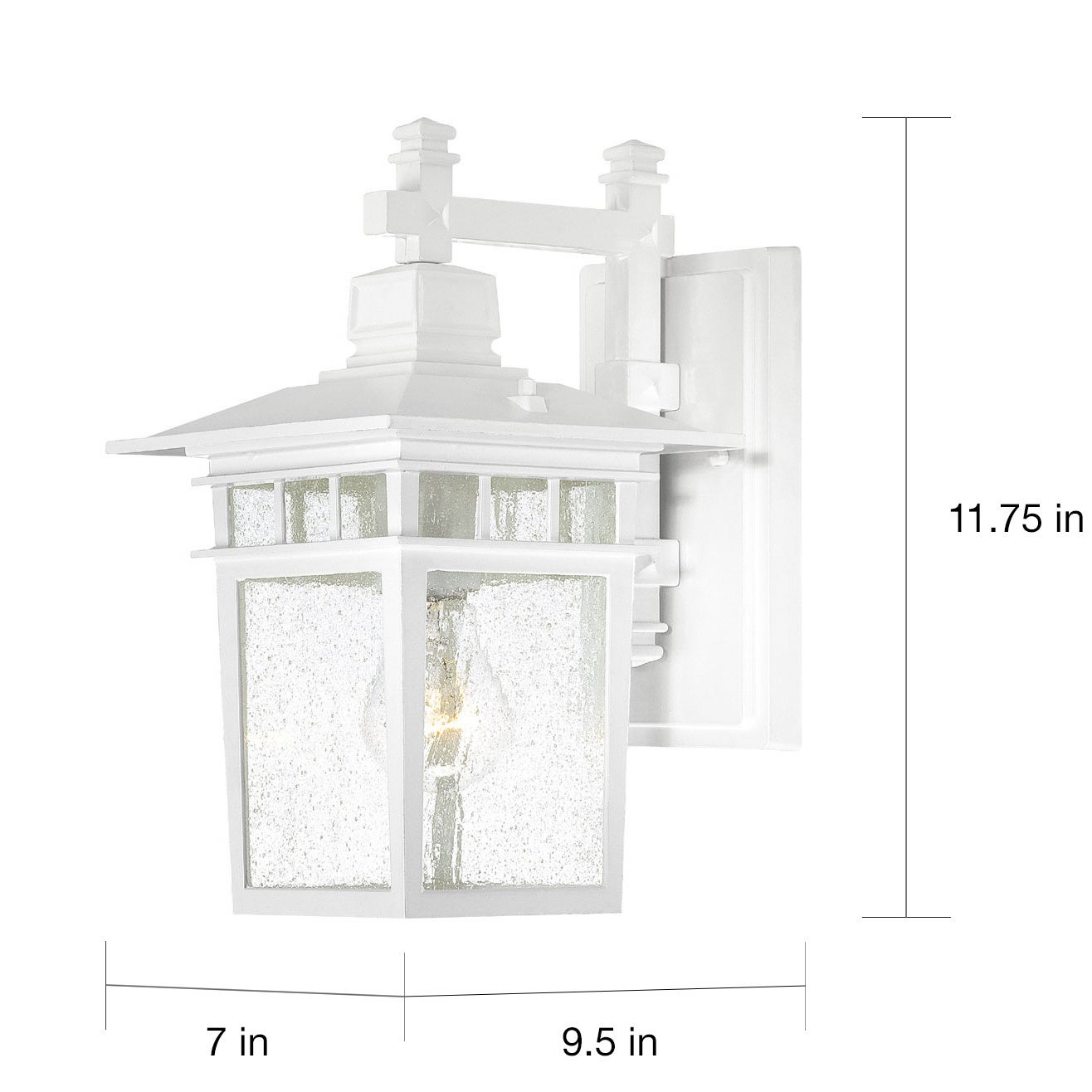 zoom lighting sgl sconce exterior outdoor white seagull wall loading led bullets contemporary