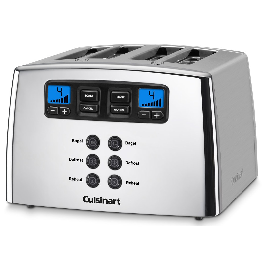 ca brushed cuisinart amazon classic dp home kitchen metal cpt slice stainless toaster