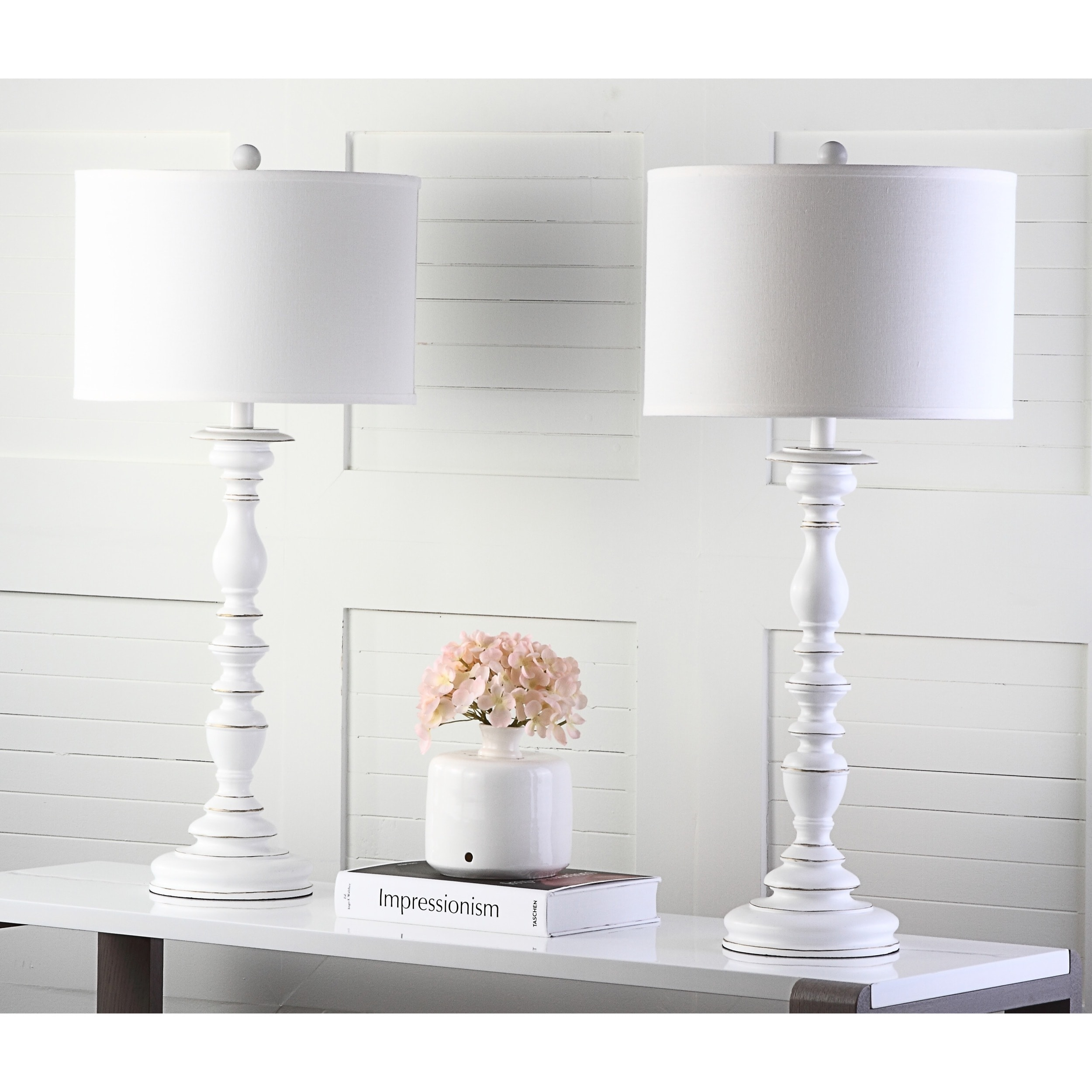 Etonnant Shop Safavieh Lighting 32.5 Inch French Candlestick White Table Lamp (Set  Of 2)   On Sale   Free Shipping Today   Overstock.com   7123293