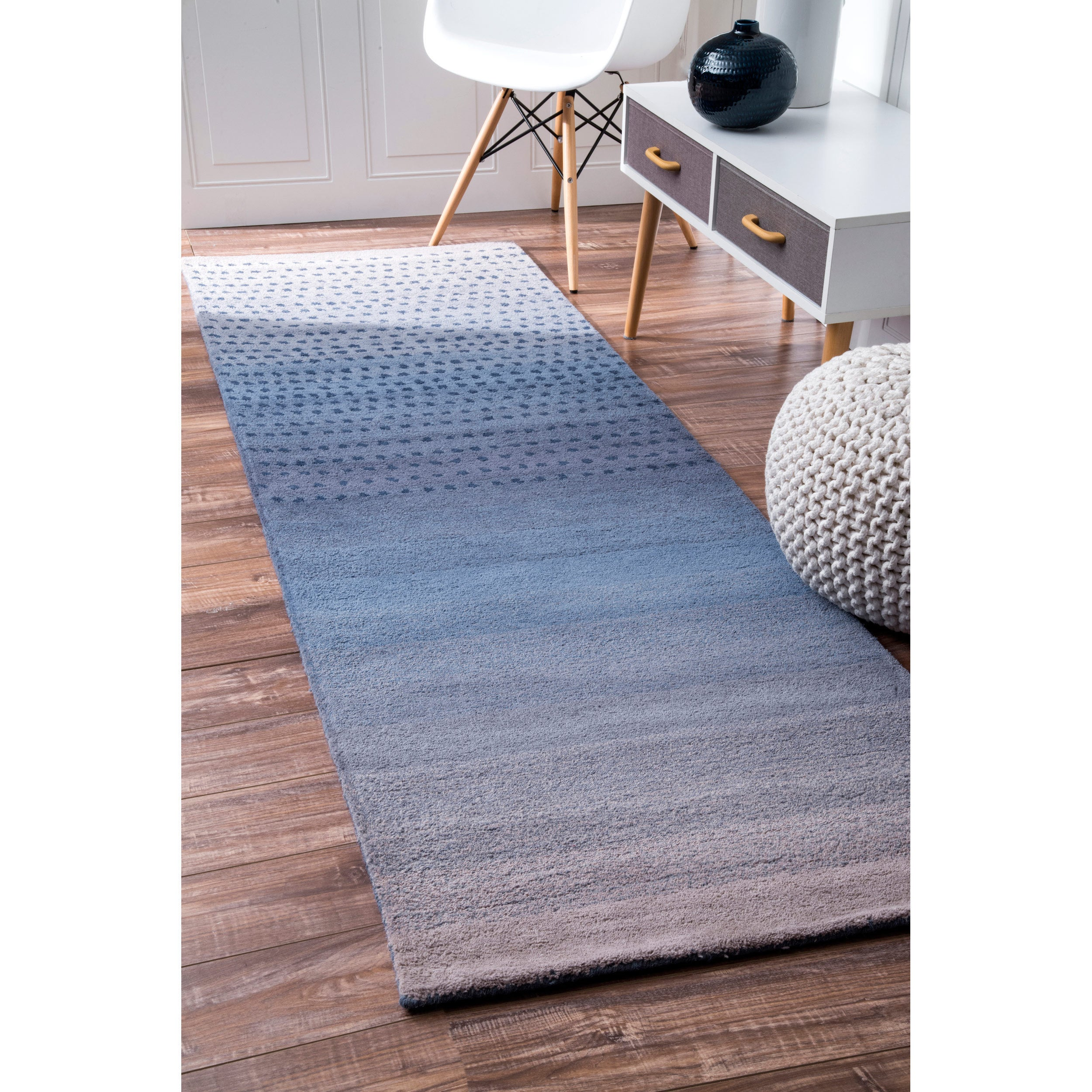 Shop Nuloom Handmade Ombre Wool Area Rug On Sale Overstock 7136323