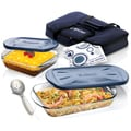 Anchor Hocking 6-piece Bake and Tote Set