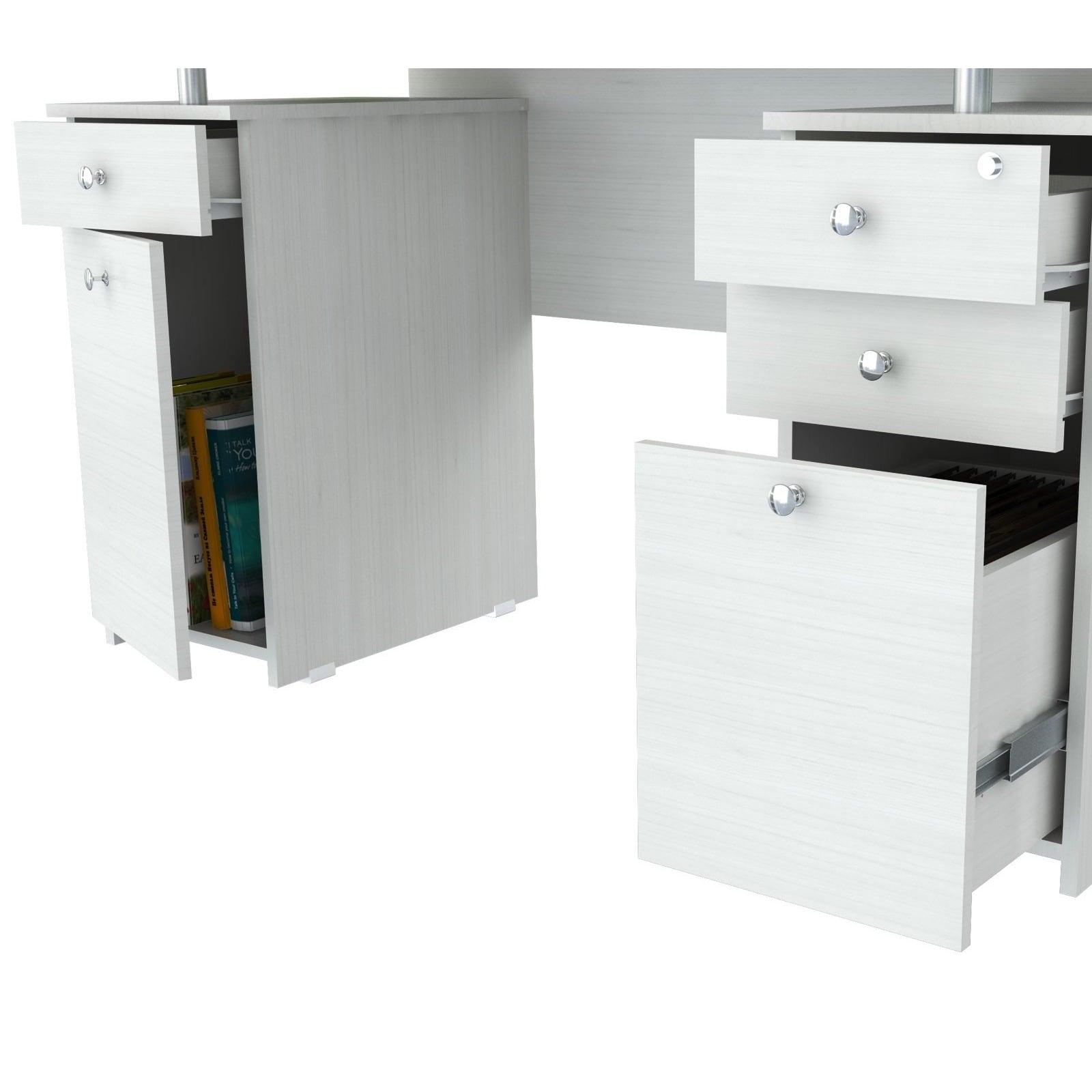 ergonomics desk us overunderdesk products drawers drawer with keyboard over system under smartfit kensington