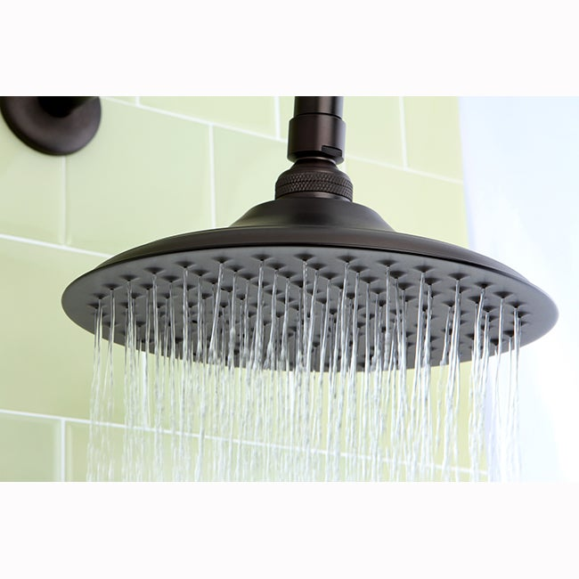 Bon Shop Victorian 8 Inch Oil Rubbed Bronze Shower Head   On Sale   Free  Shipping Today   Overstock.com   7179894