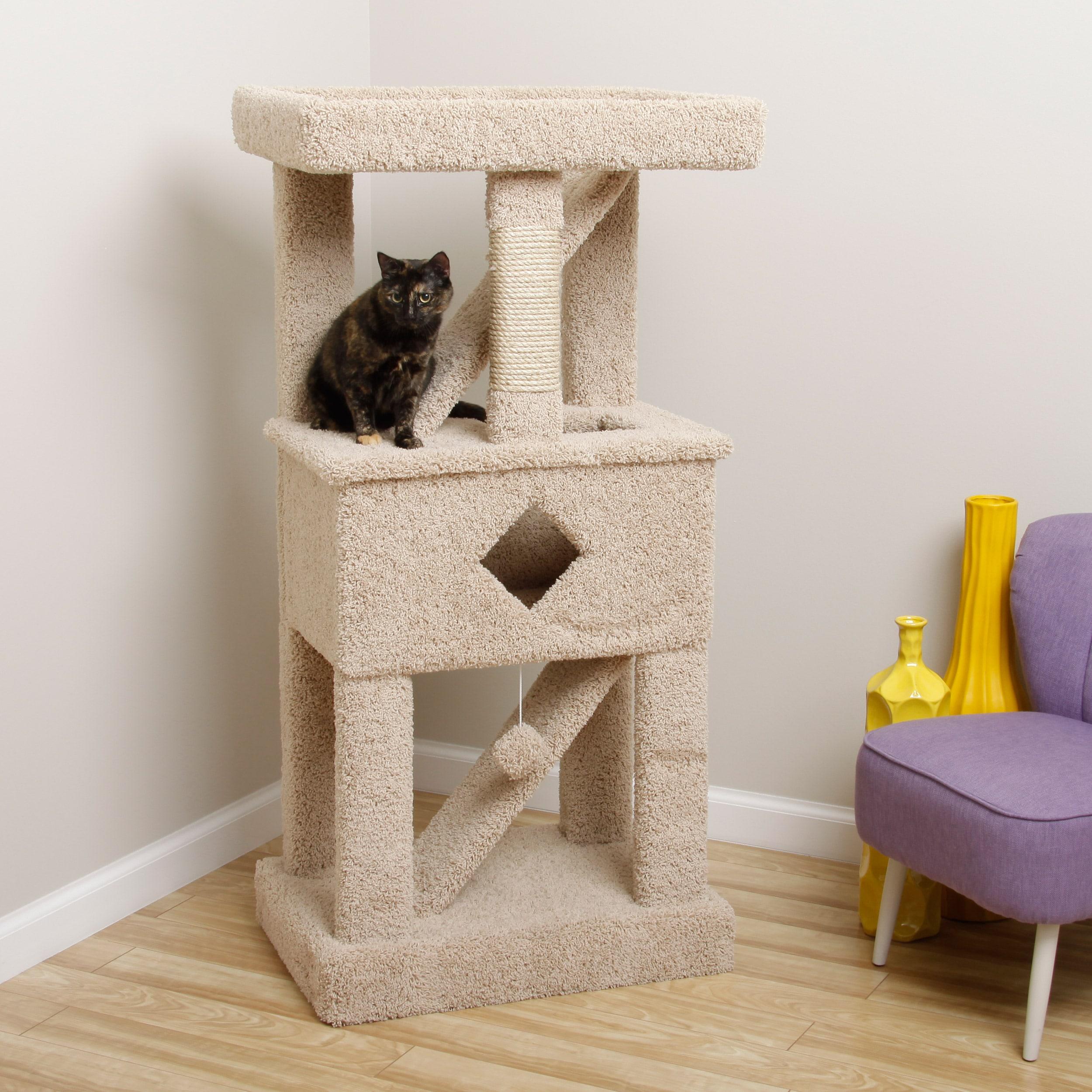 new cat condos large play gym cat tree  free shipping today  - new cat condos large play gym cat tree  free shipping today overstockcom