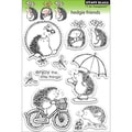 Penny Black 'Hedgie Friends' Clear Stamps