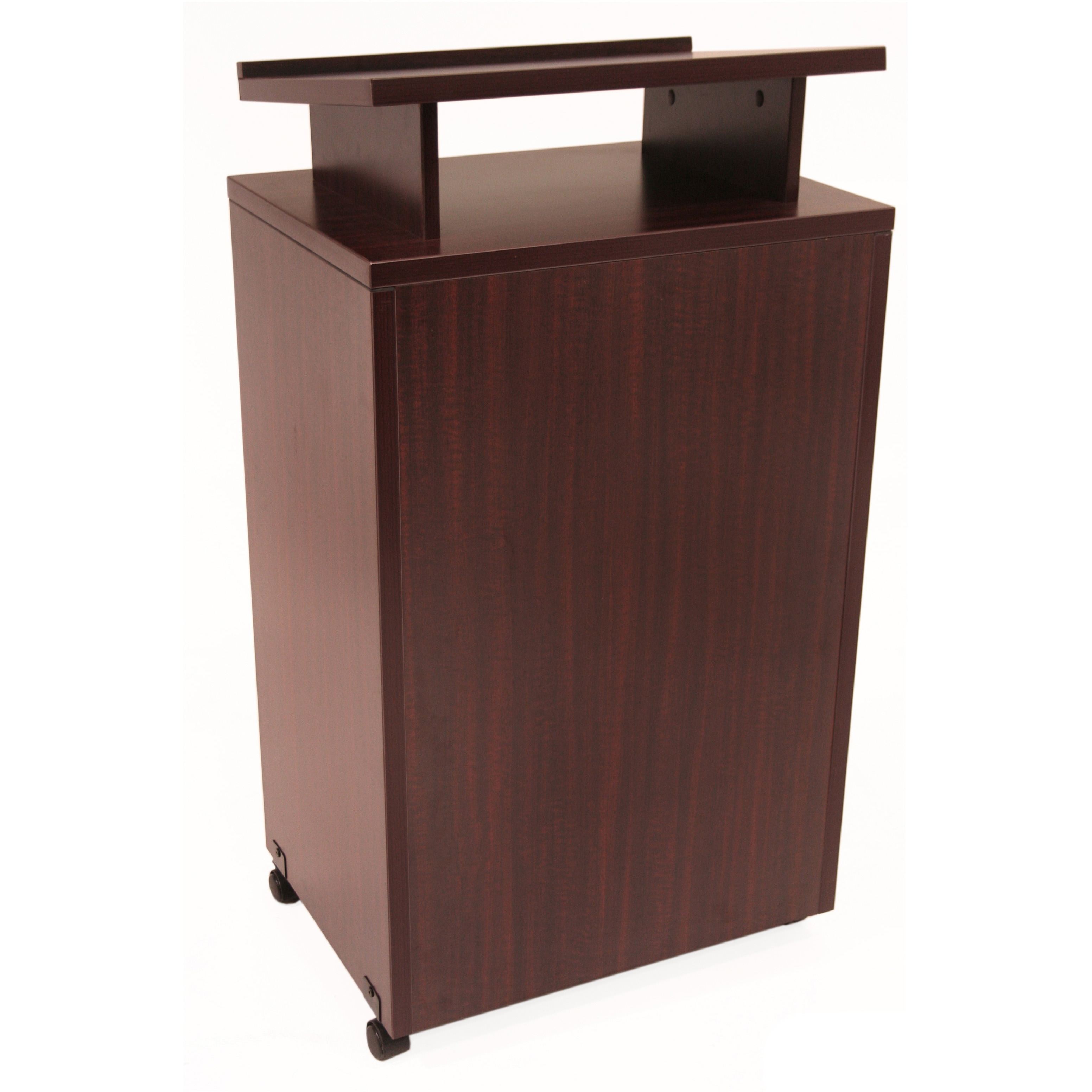 Beau Regency Seating 44 Inch Melamine Laminate Floor Standing Lectern   Free  Shipping Today   Overstock   14671899