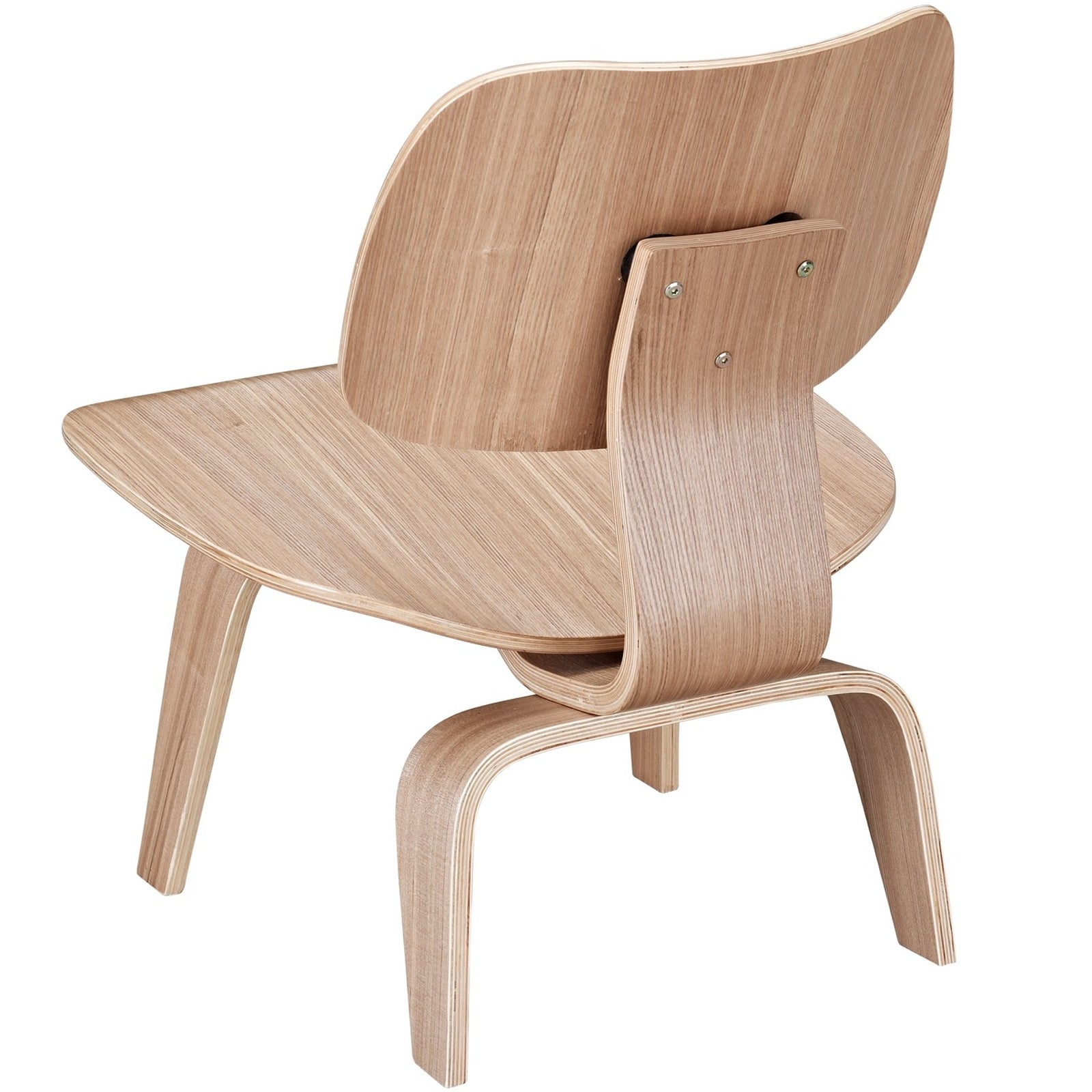 Shop Molded Natural Plywood Lounge Chair   On Sale   Free Shipping Today    Overstock.com   7191380