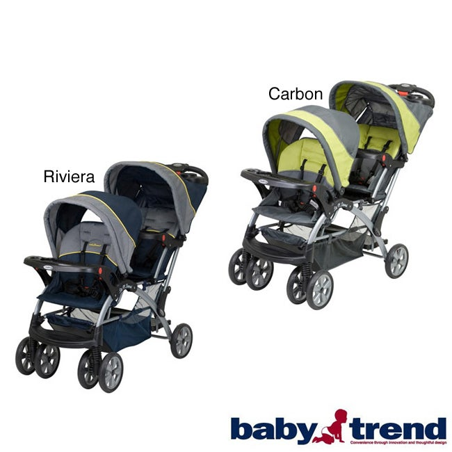 Baby Trend Sit N Stand Double Stroller - Free Shipping Today ...