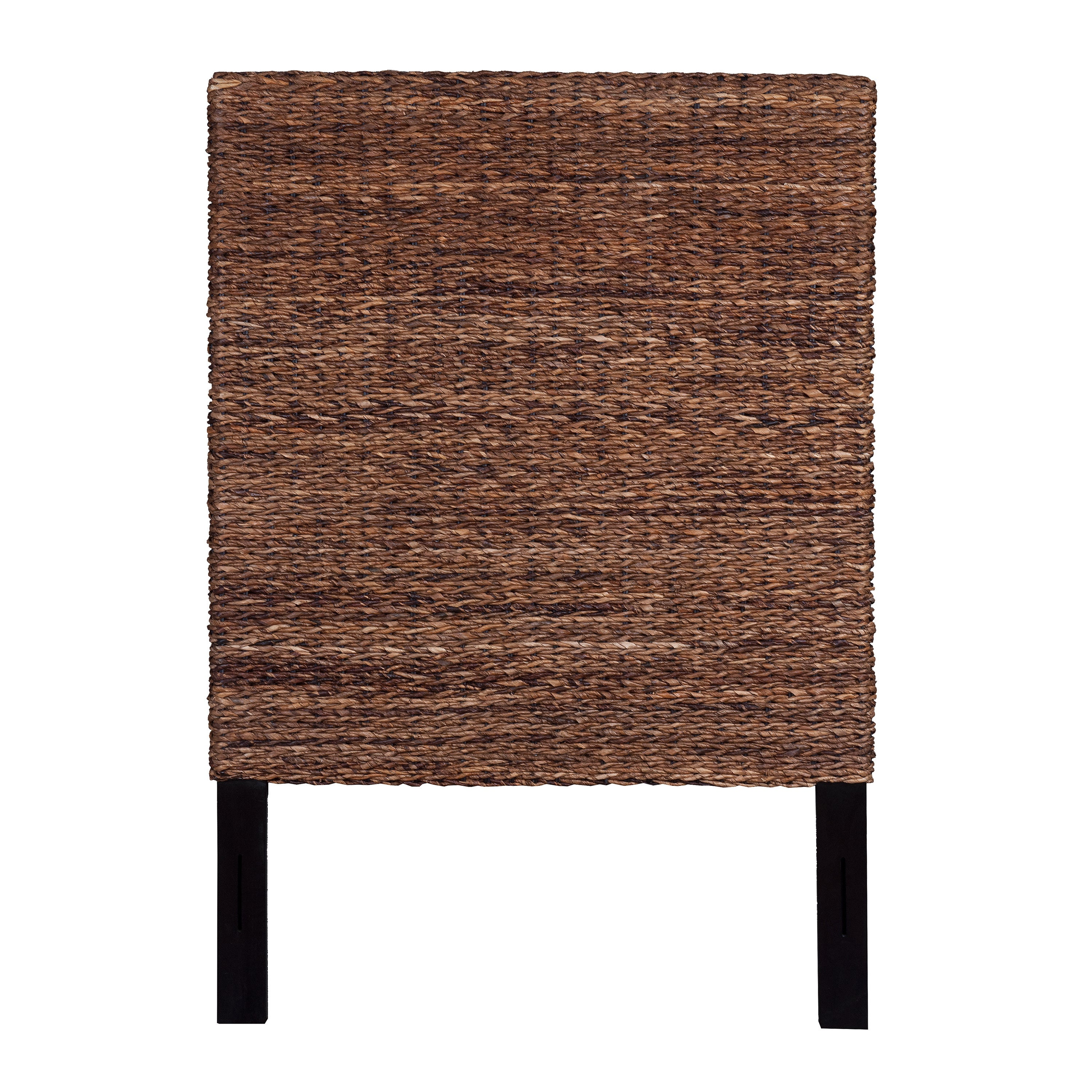 Shop East At Main s Meticulously Woven Tan Abaca Weave Headboard