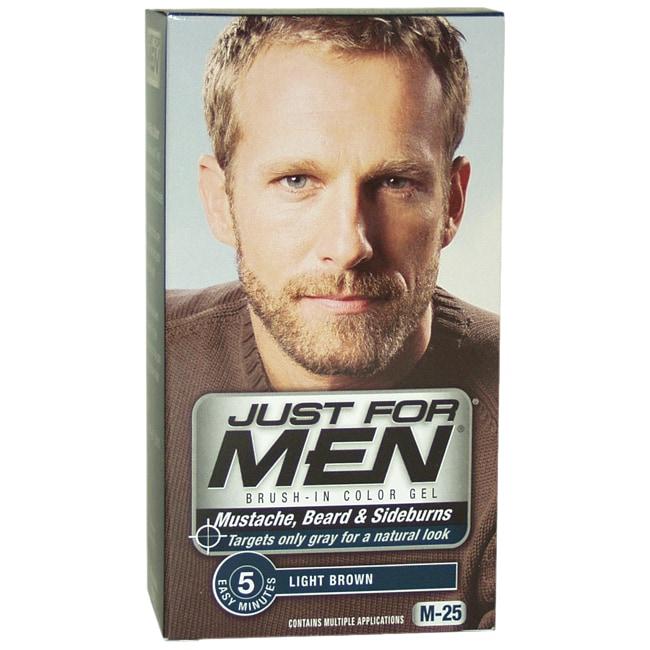 Just For Men Light Brown Mustache-Beard & Sideburns Brush-In Gel ...