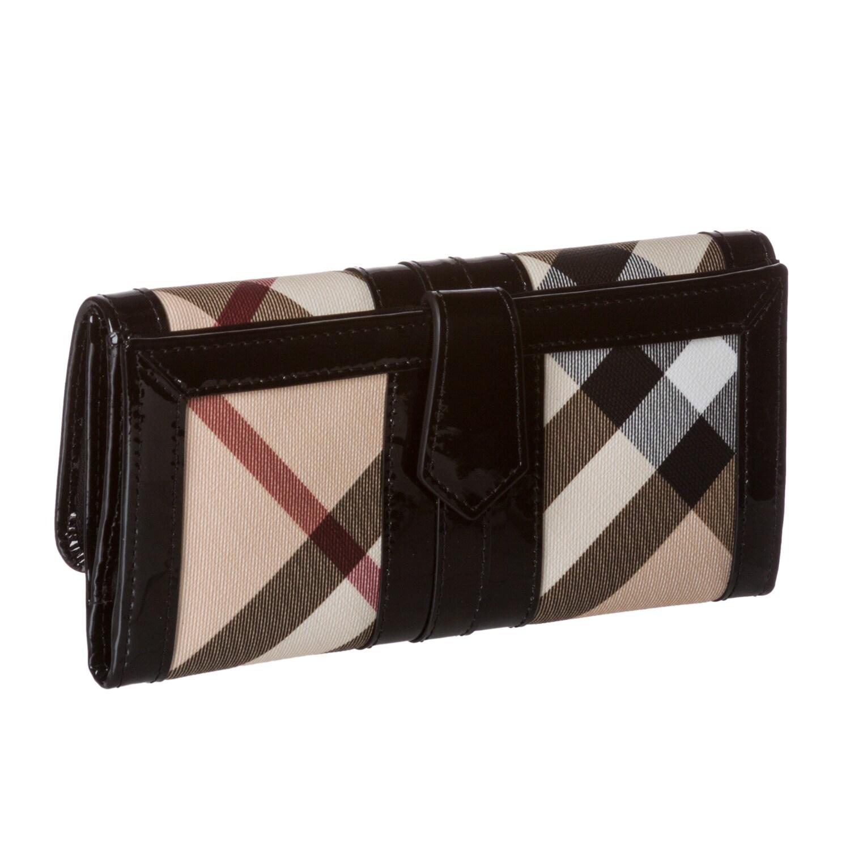 4d7c03c22ac Shop Burberry Nova Check Wallet - Free Shipping Today - Overstock.com -  7252307