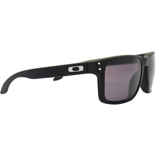 489042158c5a3 Shop Oakley Men s  Holbrook  Wrap Sunglasses - On Sale - Free Shipping  Today - Overstock - 7255296