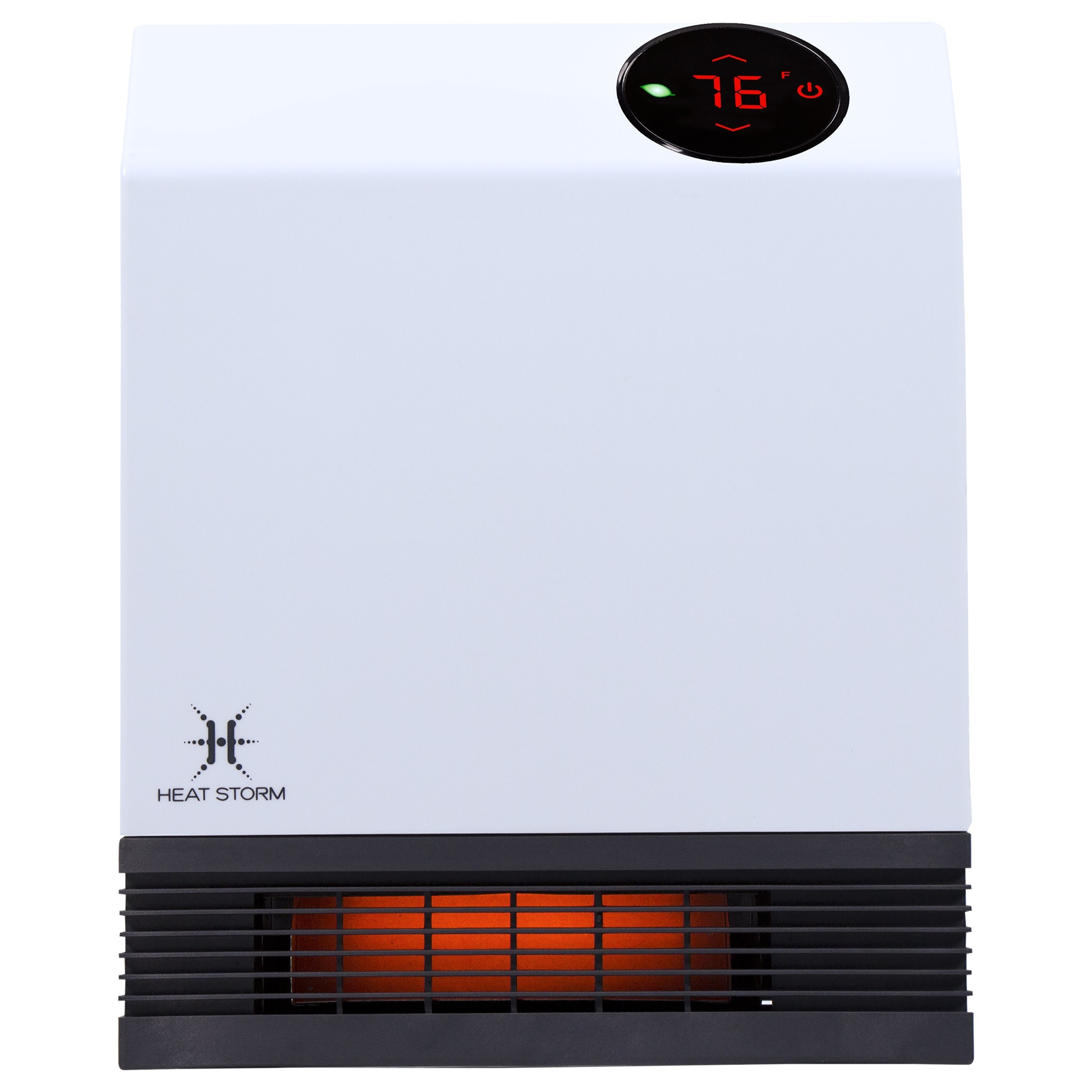 Shop Heat Storm Deluxe 1000 Watt Wall Infrared Heater Free Portable Electric Baseboard Heaters As Well Small With Shipping Today 7277523