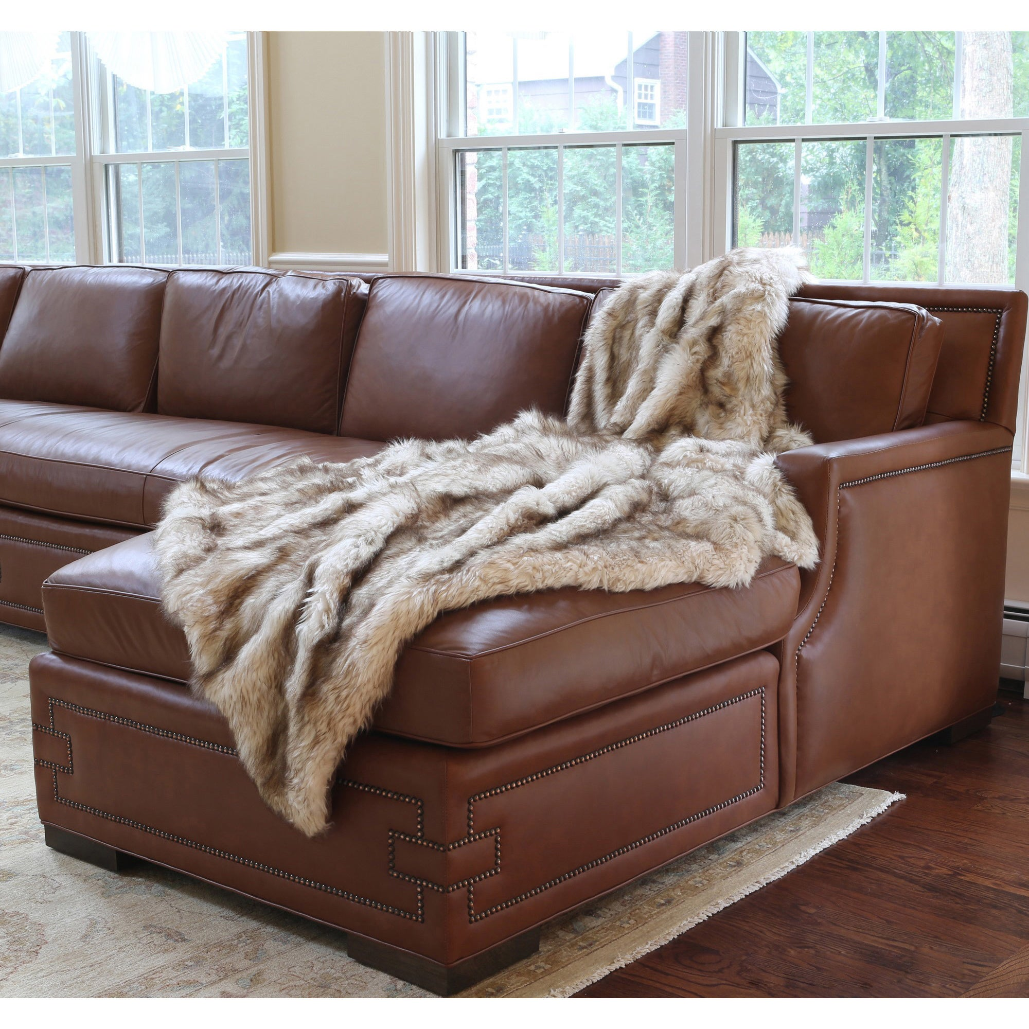 Charmant Shop Aurora Home Wild Mannered Luxury Long Hair Faux Fur 58 X 36 Inch Lap  Throw   Free Shipping Today   Overstock.com   7278785