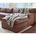 Wild Mannered Luxury Long Hair Faux Fur Lap Throw