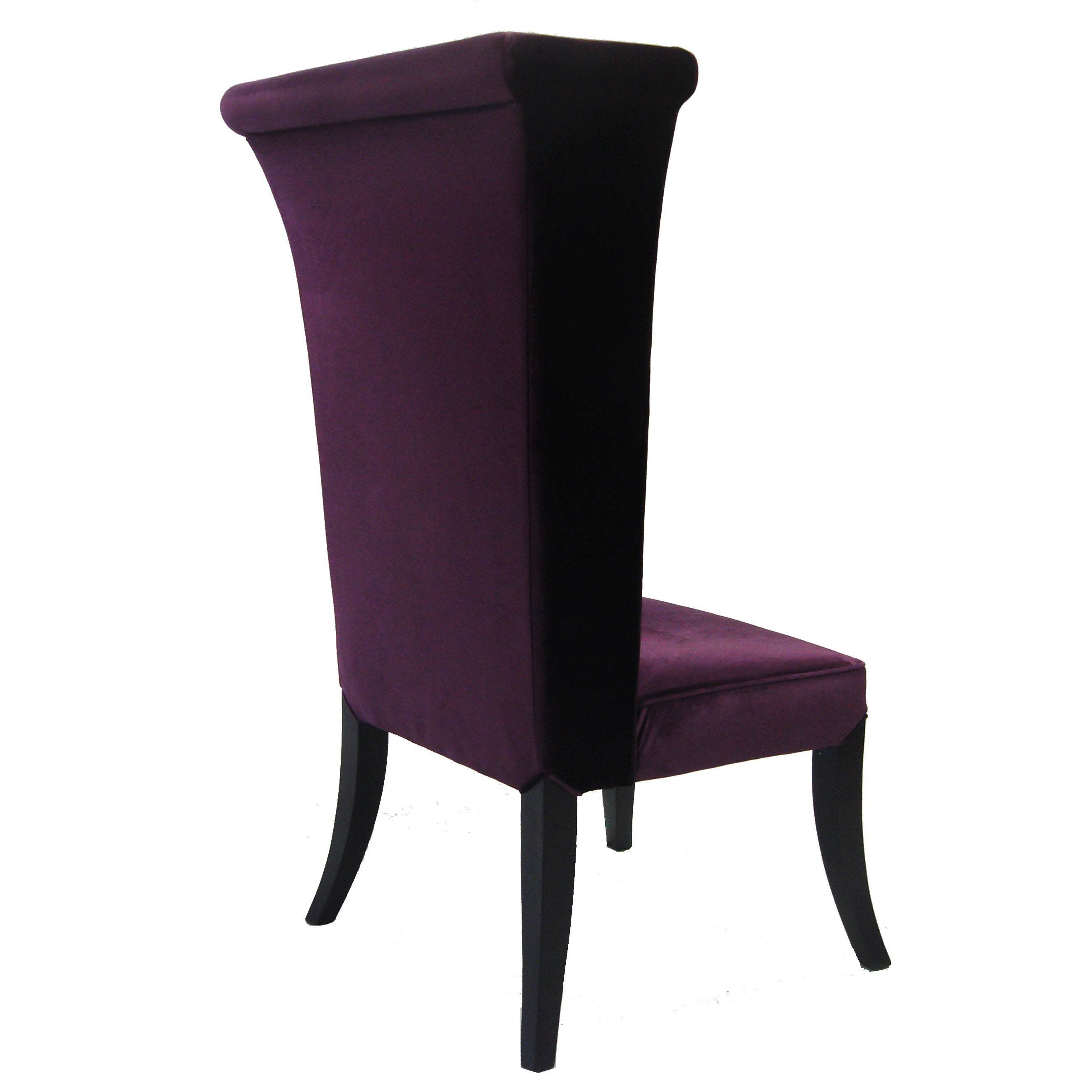 Shop Armen Living Mad Hatter Purple Velvet High Back Chair   On Sale   Free  Shipping Today   Overstock.com   7278917
