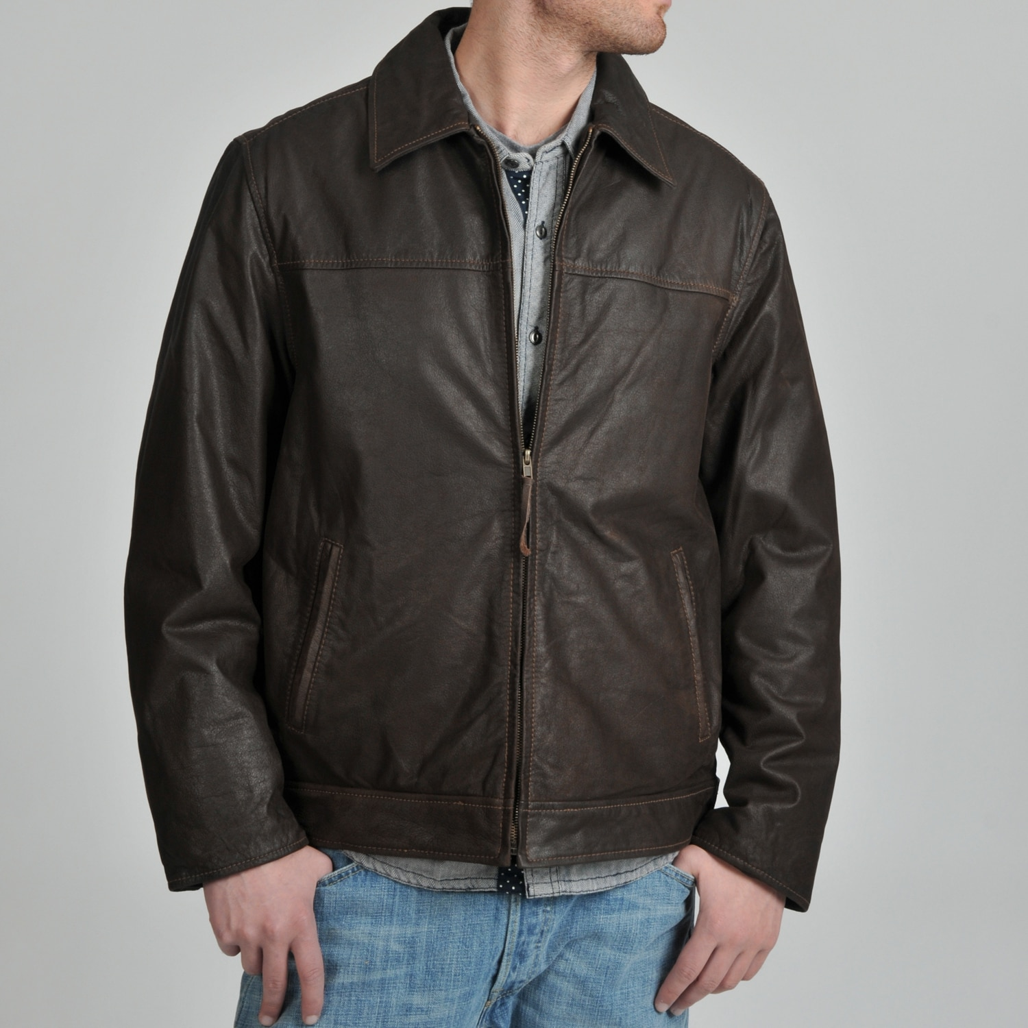 magiczoom window distressed master rug jacket johnston moto murphy rugged leather