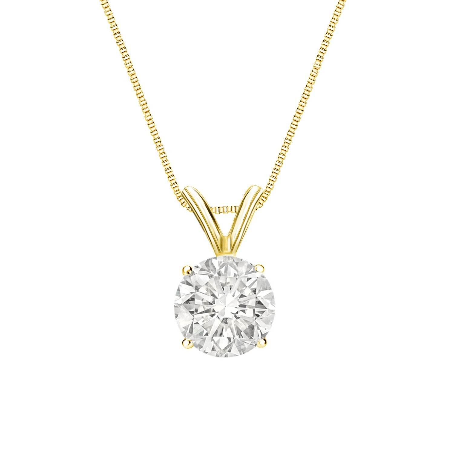 better color set diamond clarity h i solitaire pendant bezel in white si and gold necklace