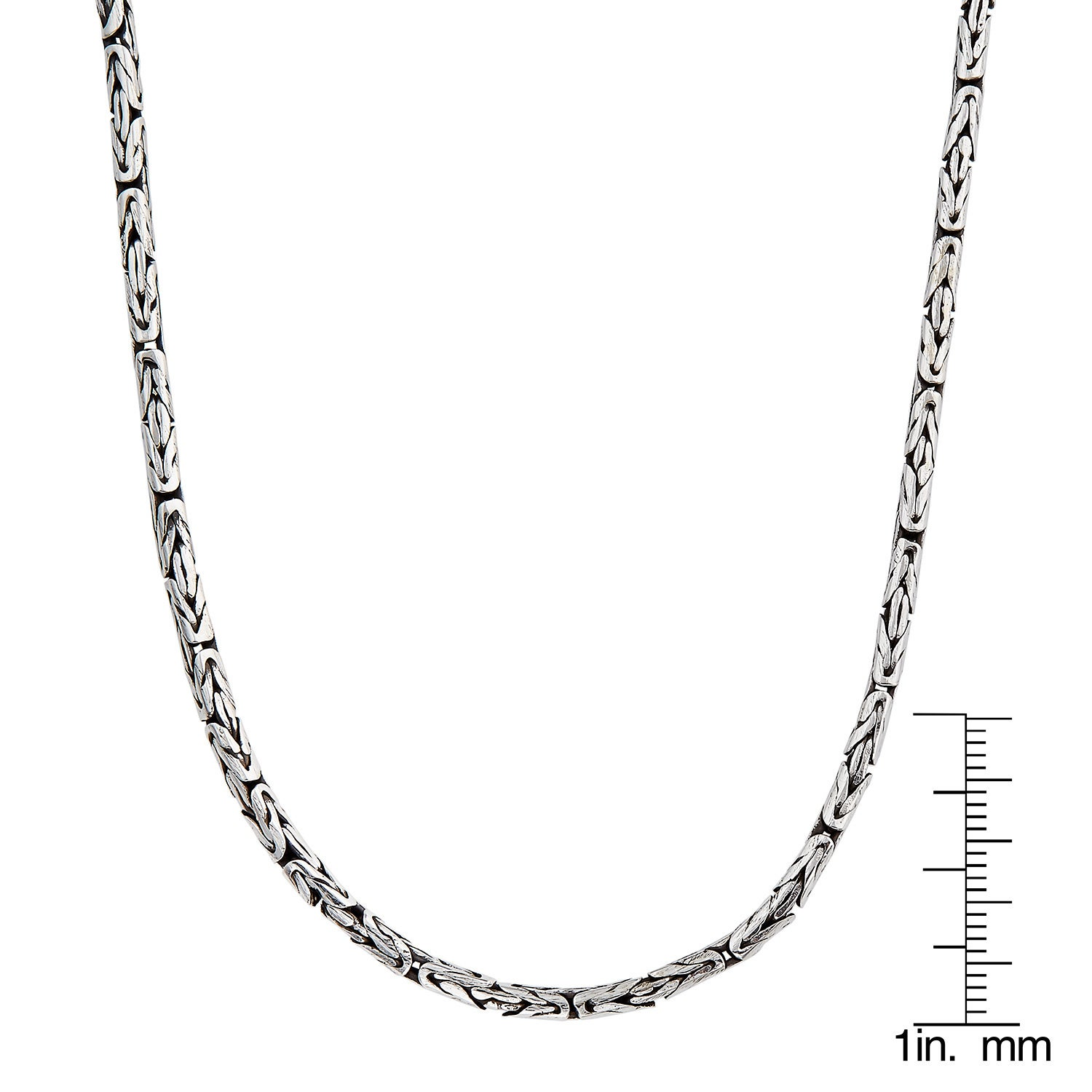 chain molten necklace metallic jewelry plain mini on gallery lyst missoma silver in