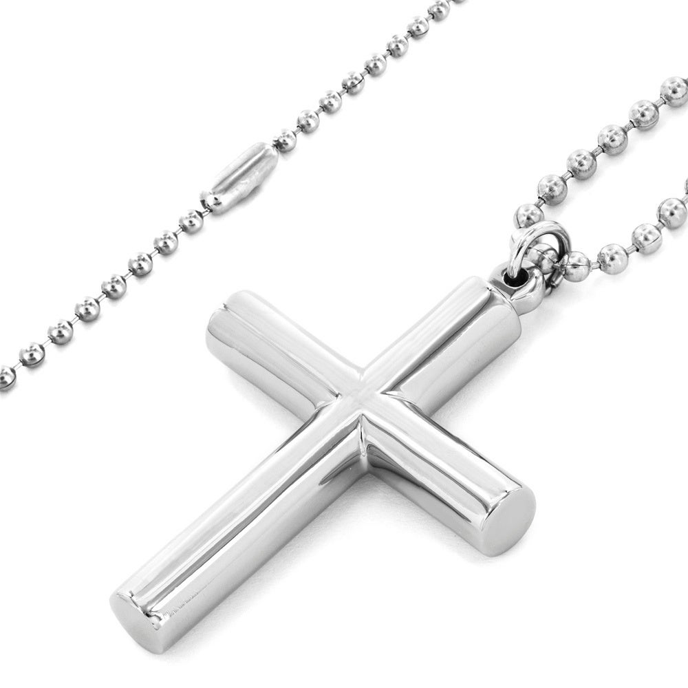 charm pendant necklace steel product titanium black silver gold stainless men gun