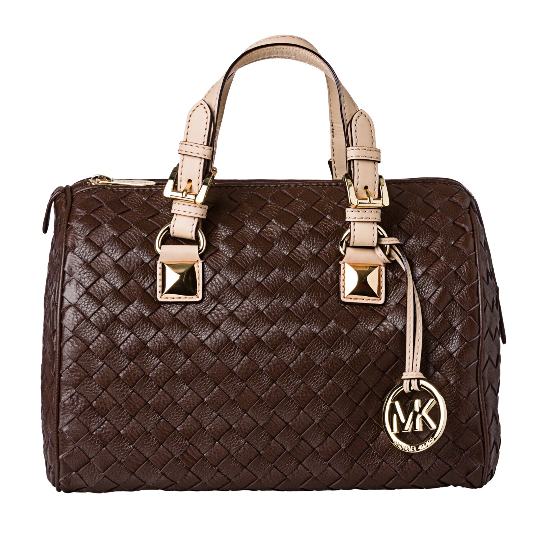 e7e13fb2f77024 ... spain shop michael michael kors grayson woven medium satchel free  shipping today overstock 7302531 77b1b 40a17