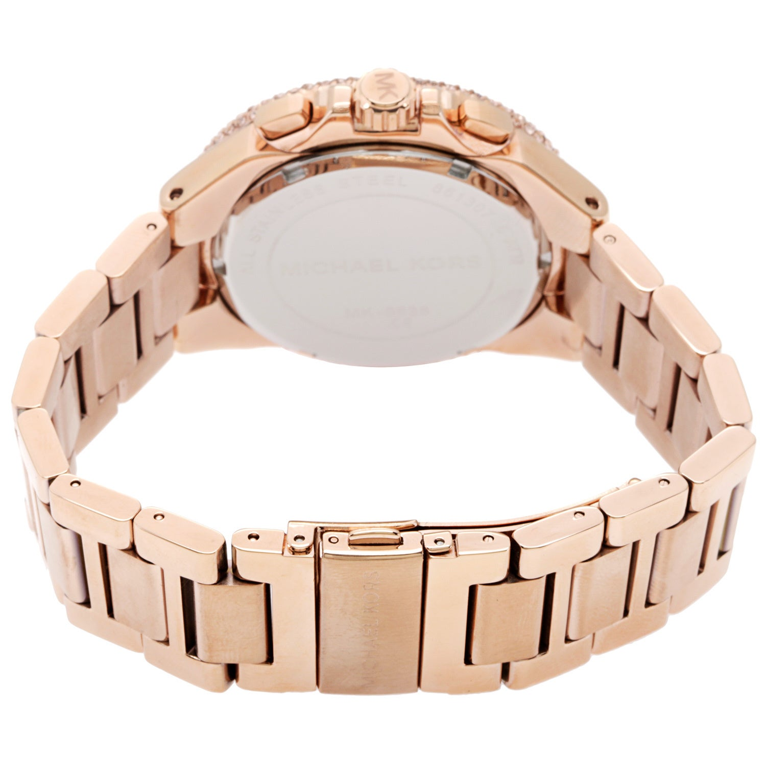 609e377f999d Shop Michael Kors Women s MK5636 Rose Gold-Tone Camille Watch - Free  Shipping Today - Overstock - 7304782