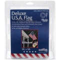 Nylon US Flag (Sewn and Embroidered) 3 x 5 feet