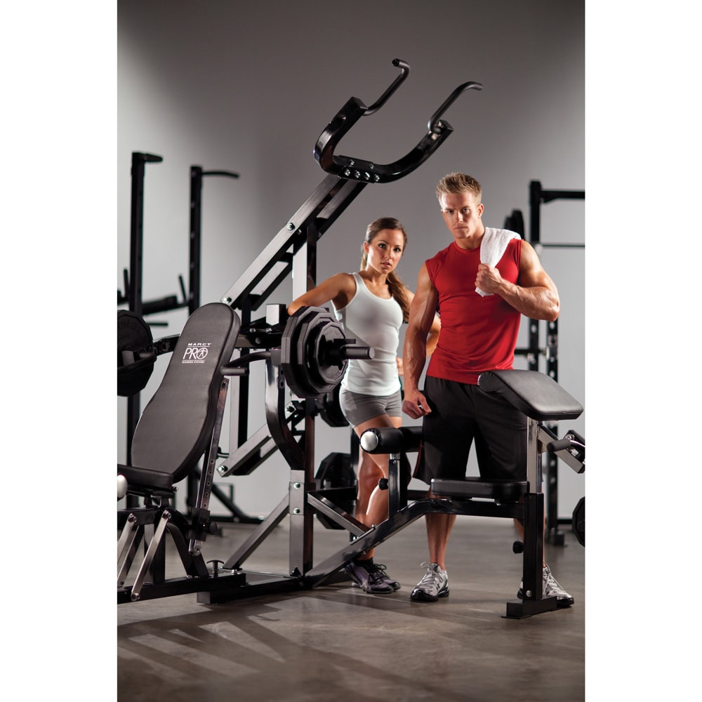 Shop Marcy Pro Multi-Station Strength Trainer - Free Shipping Today -  Overstock.com - 7307377