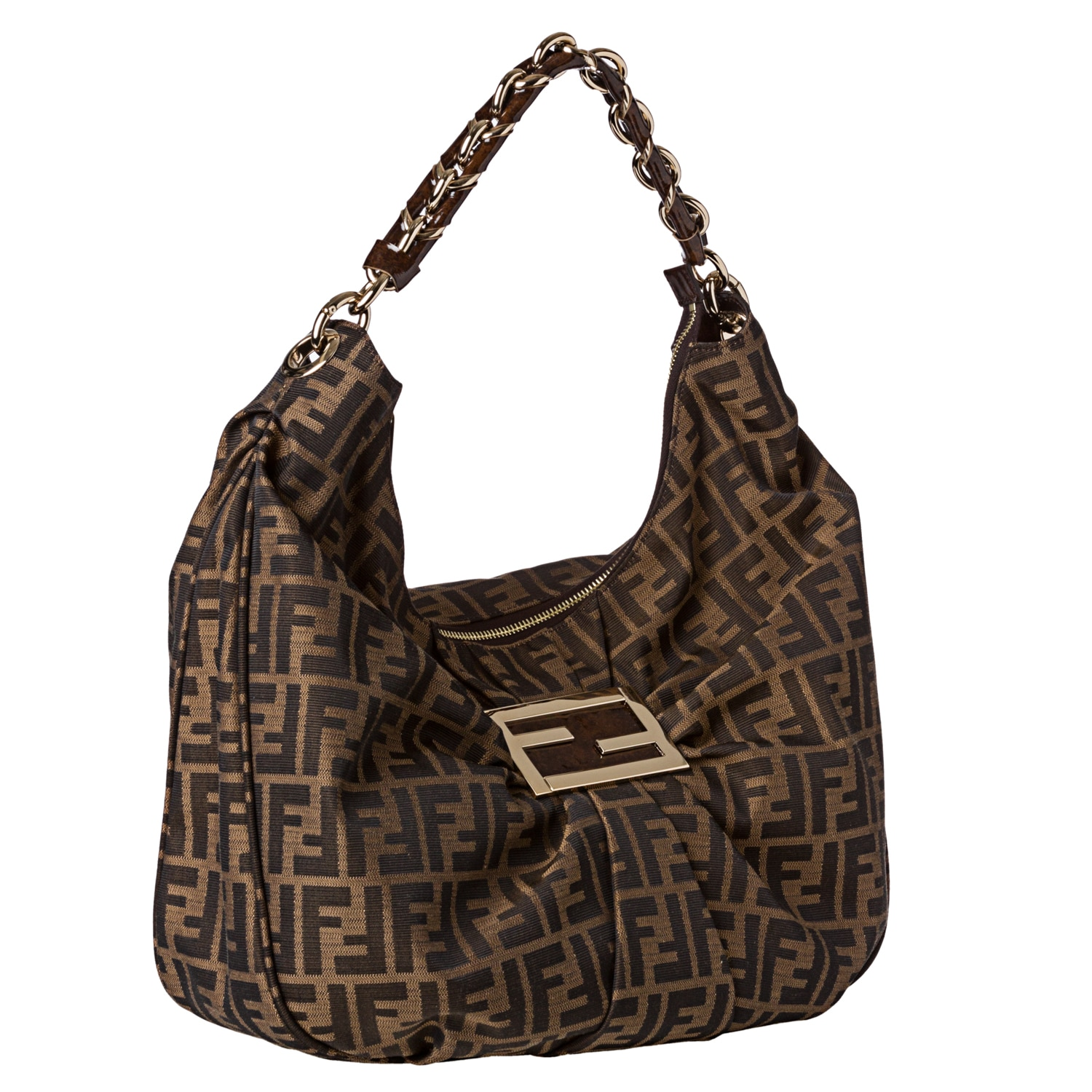 Fendi Peekaboo Handbag Canvas Large biVp7hBf