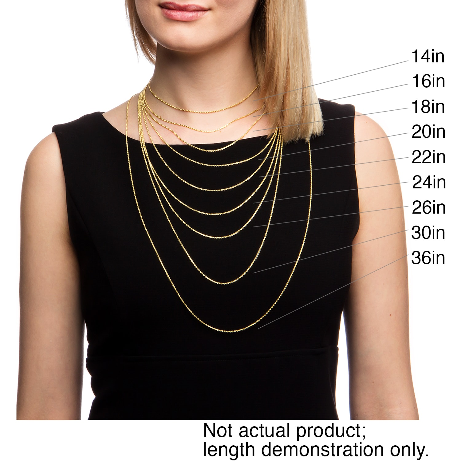 Pendant necklace chain length images pendant necklace chain length images fremada 14k yellow gold filled mariner link chain necklace 18 36 mozeypictures Image collections